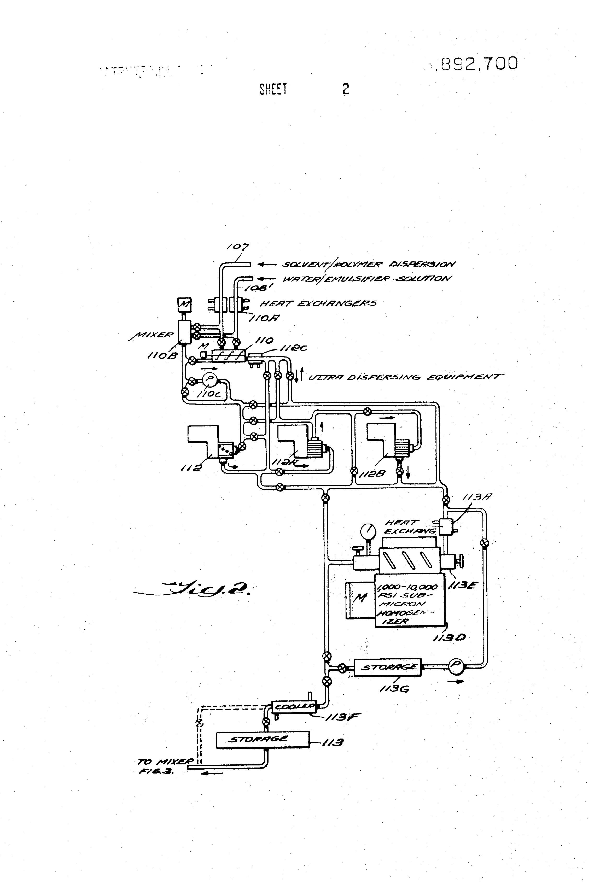 patent us3892700