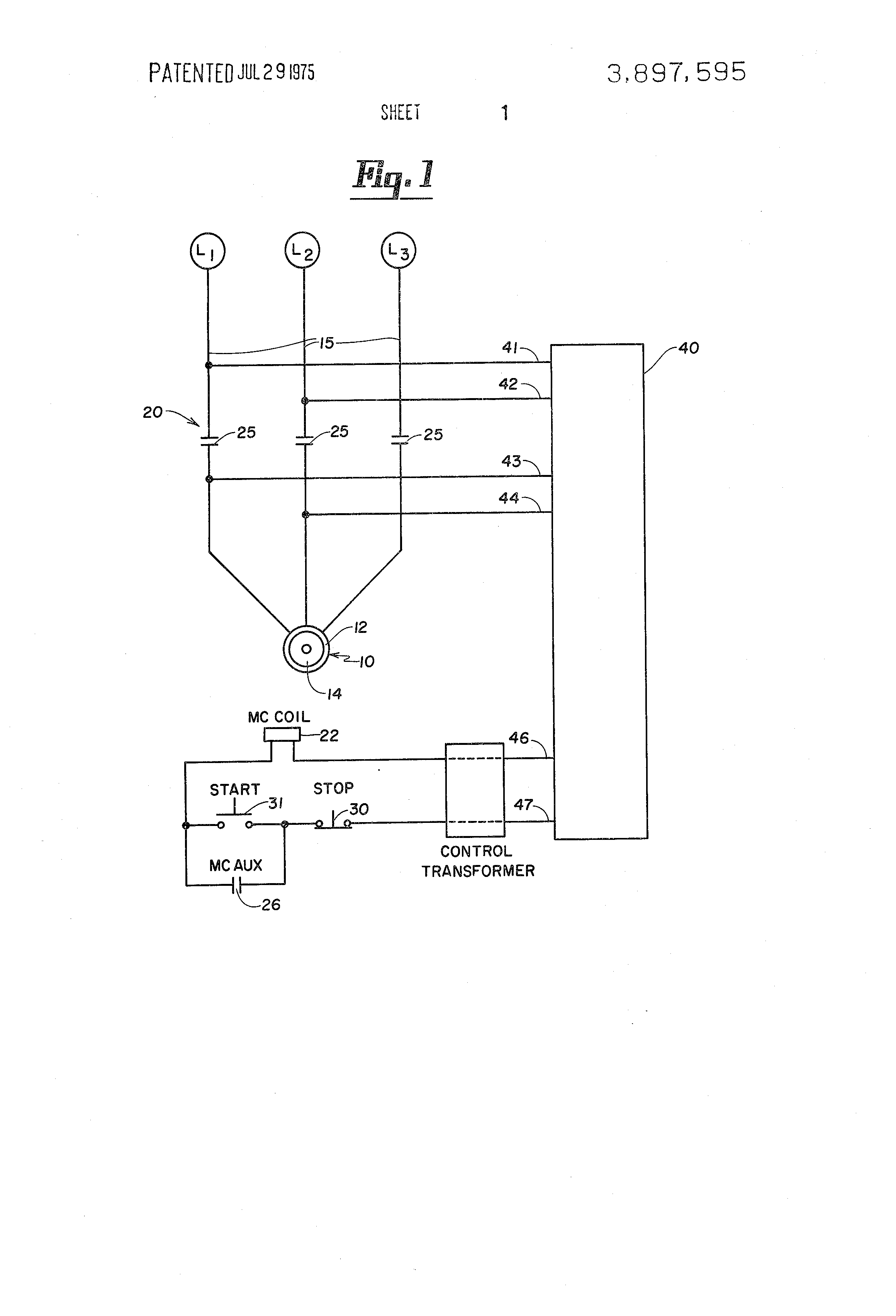 Patent US3897595 - Dynamic motor brake control for AC ...