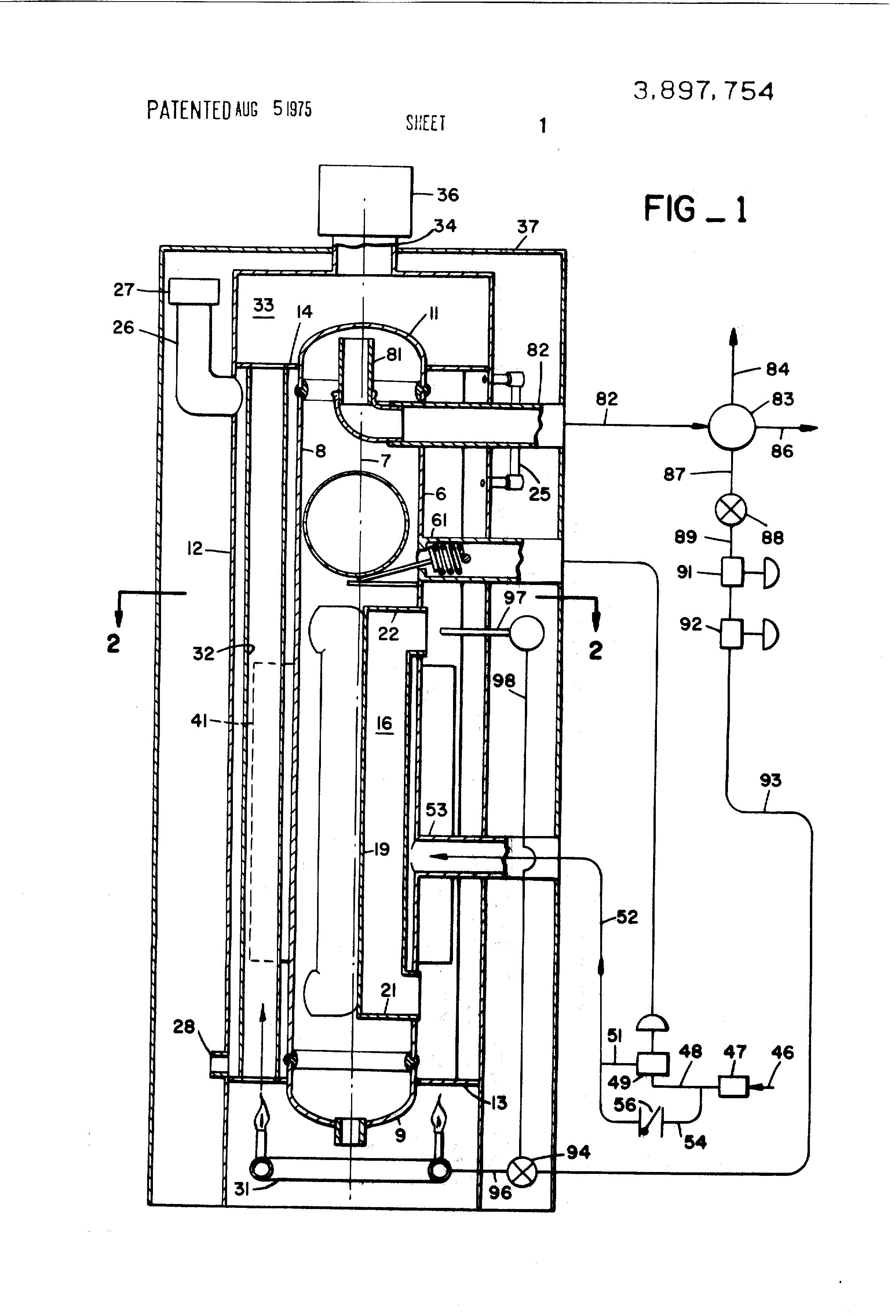Patent Us3897754 - Lpg Vaporizer