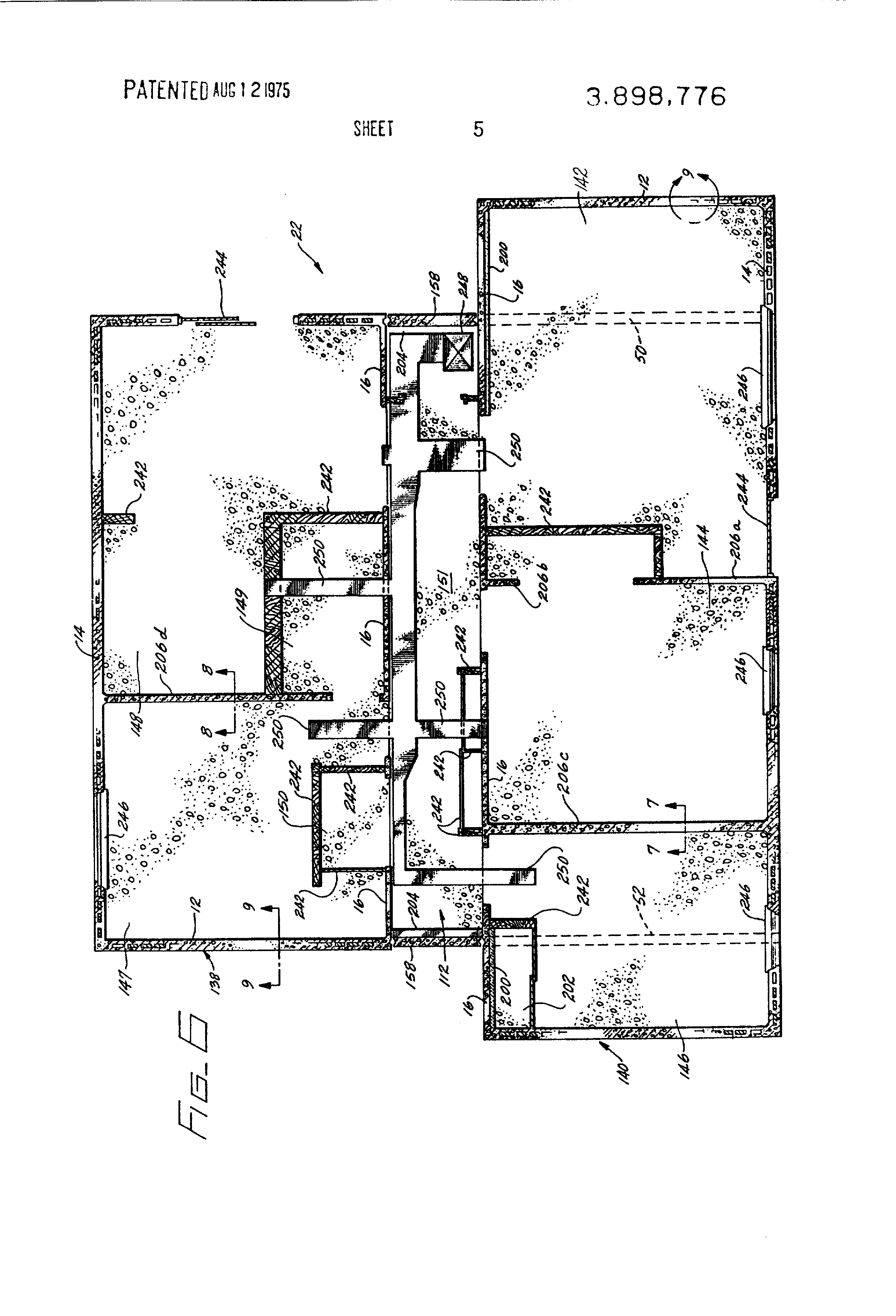 patent us3898776 - precast concrete housing