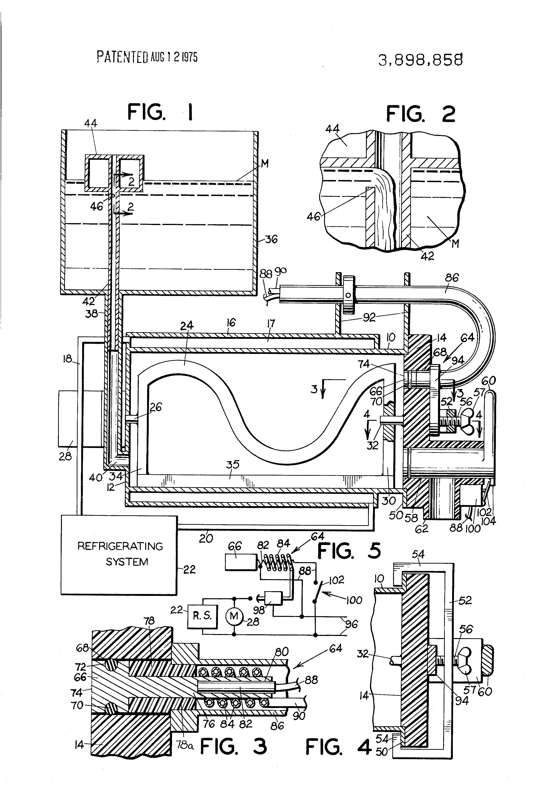 ice cream machine circuit diagram