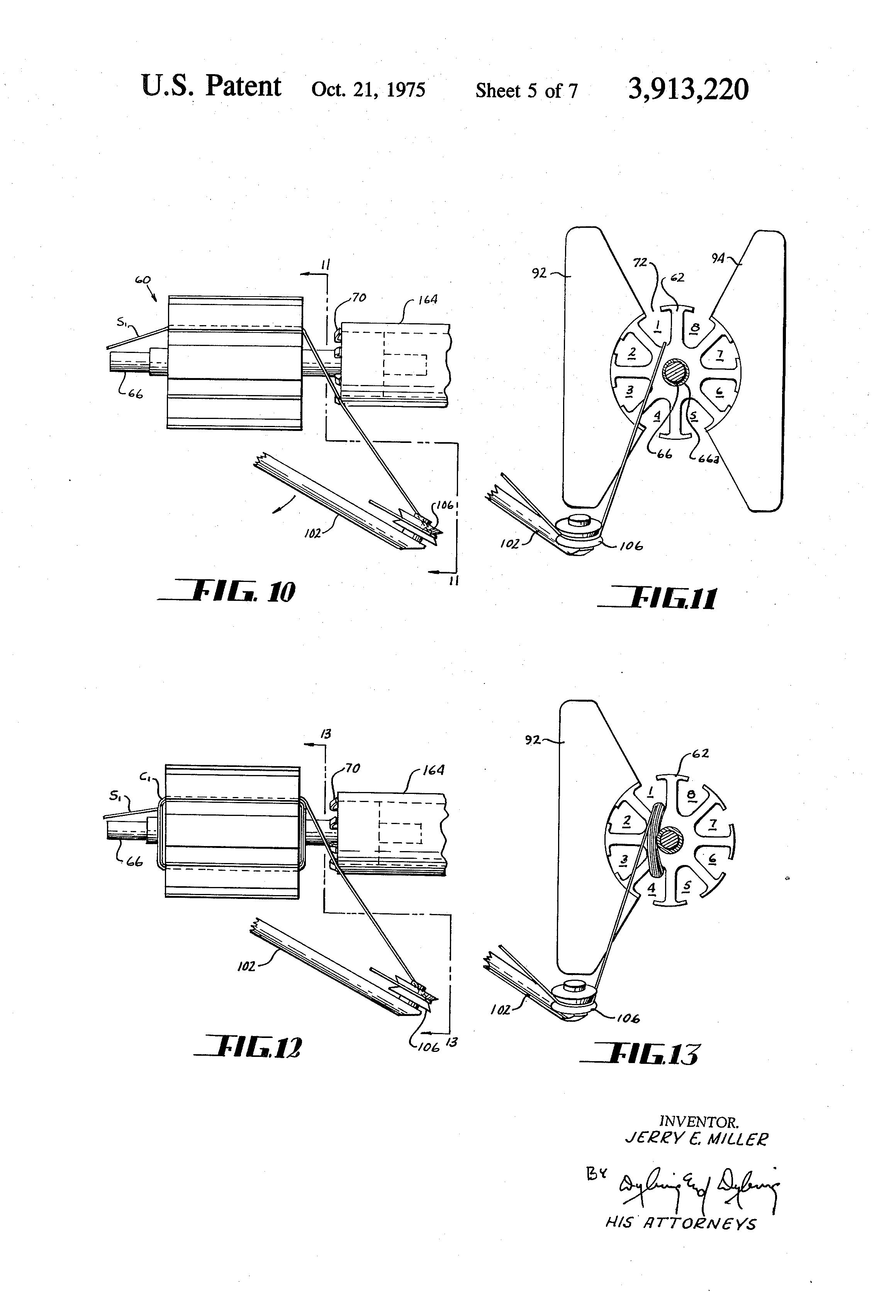 patent us3913220 armature winding method google patents. Black Bedroom Furniture Sets. Home Design Ideas