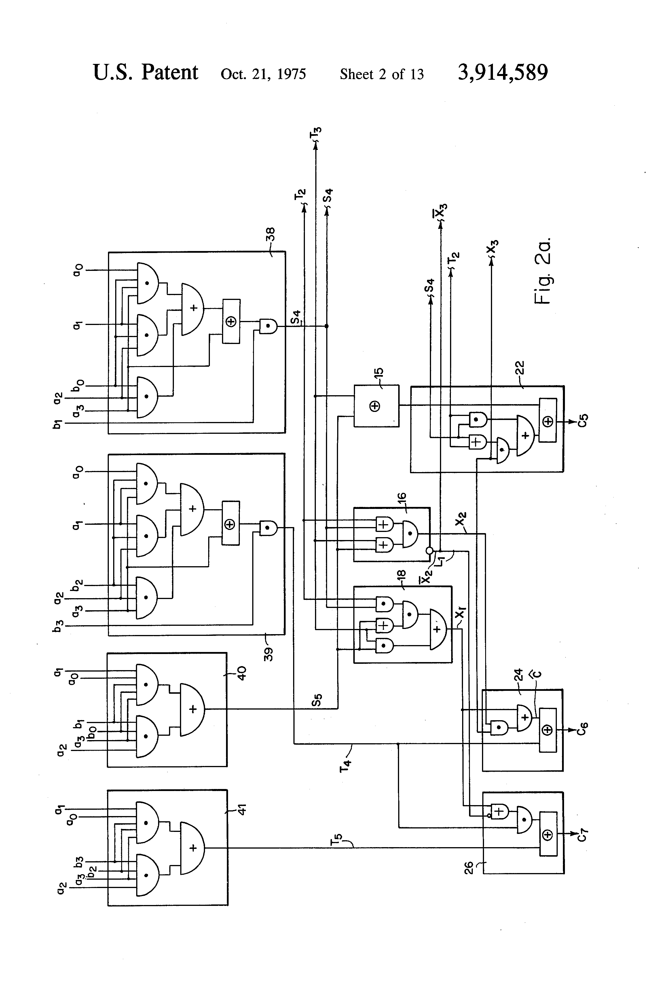 patent us3914589