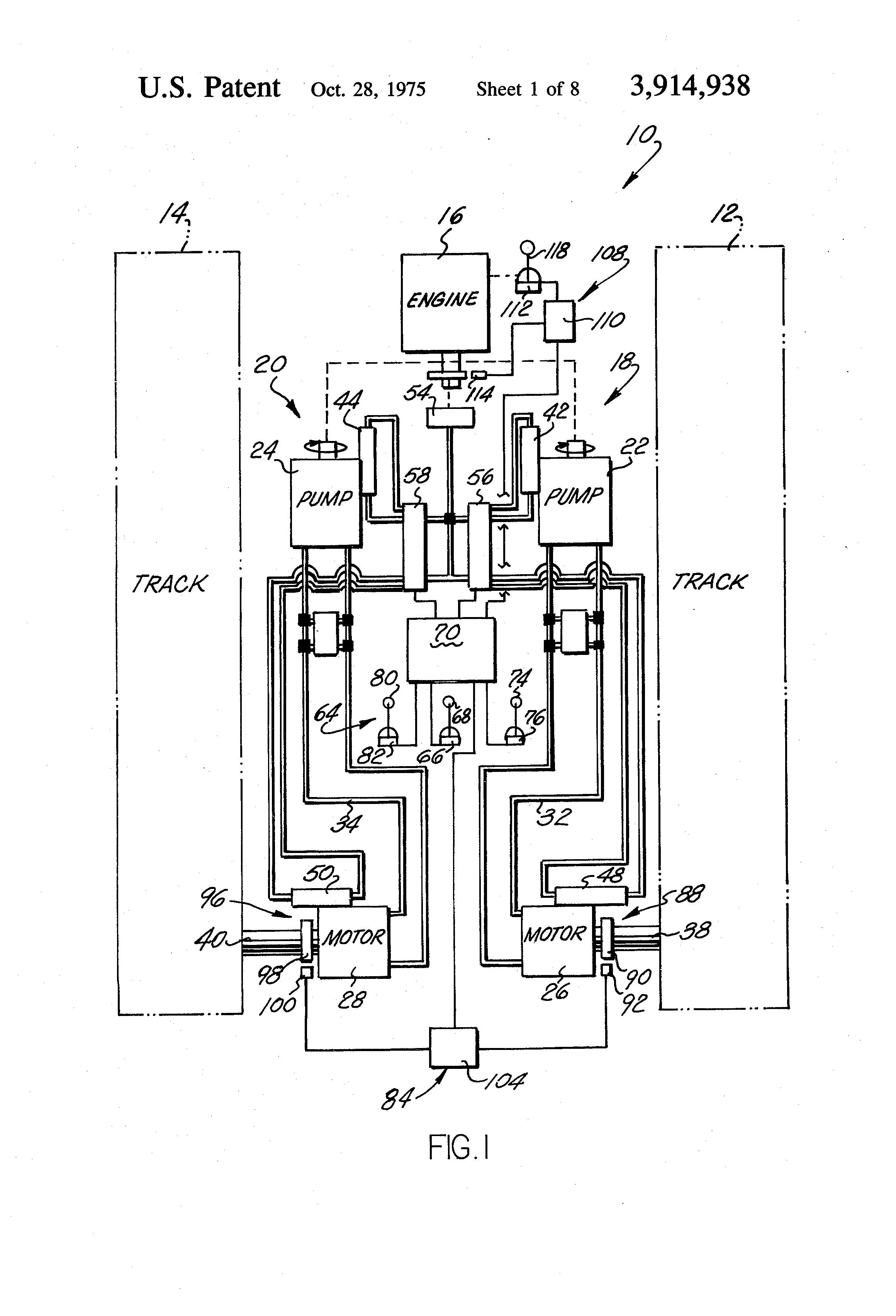 eaton hydrostatic drive diagram