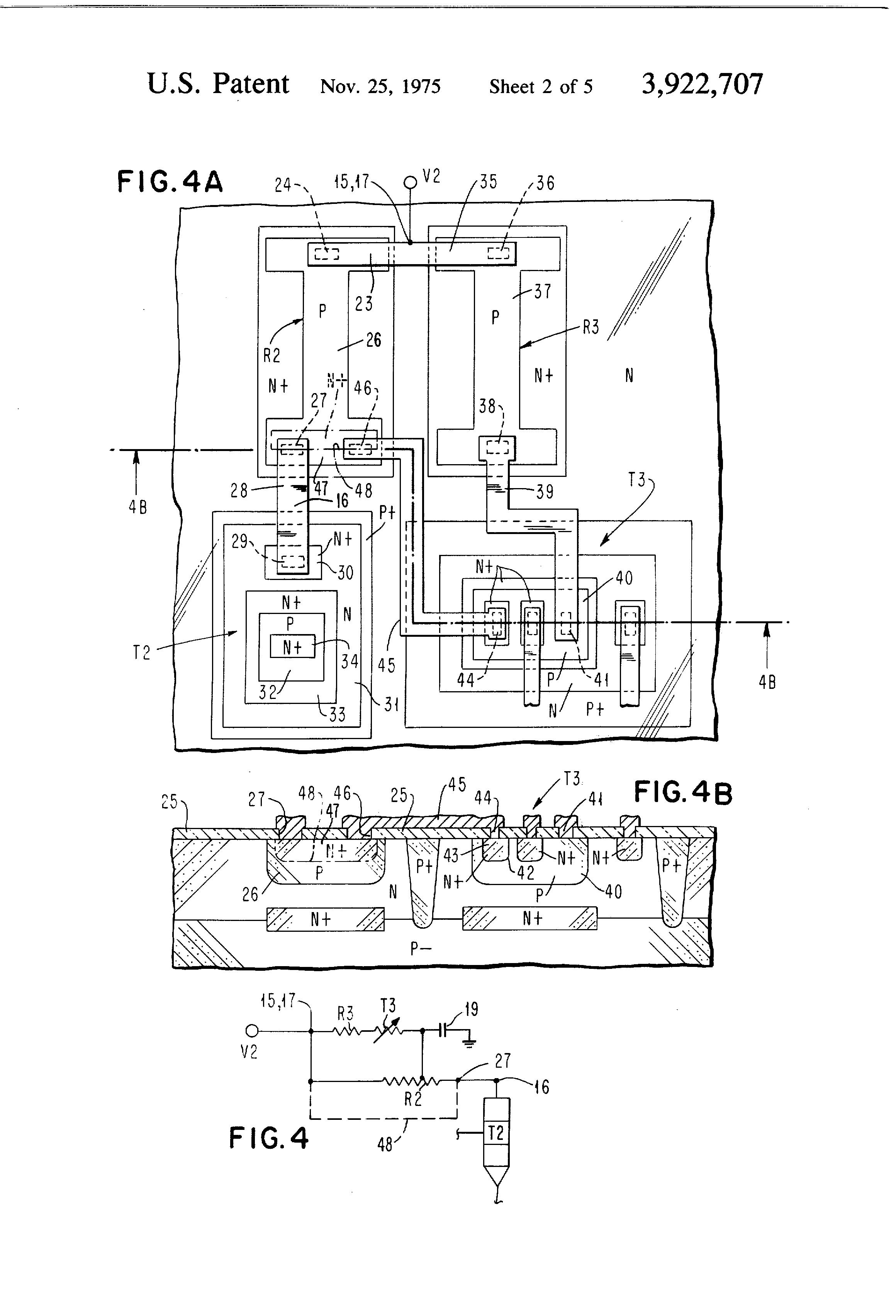 patent us3922707