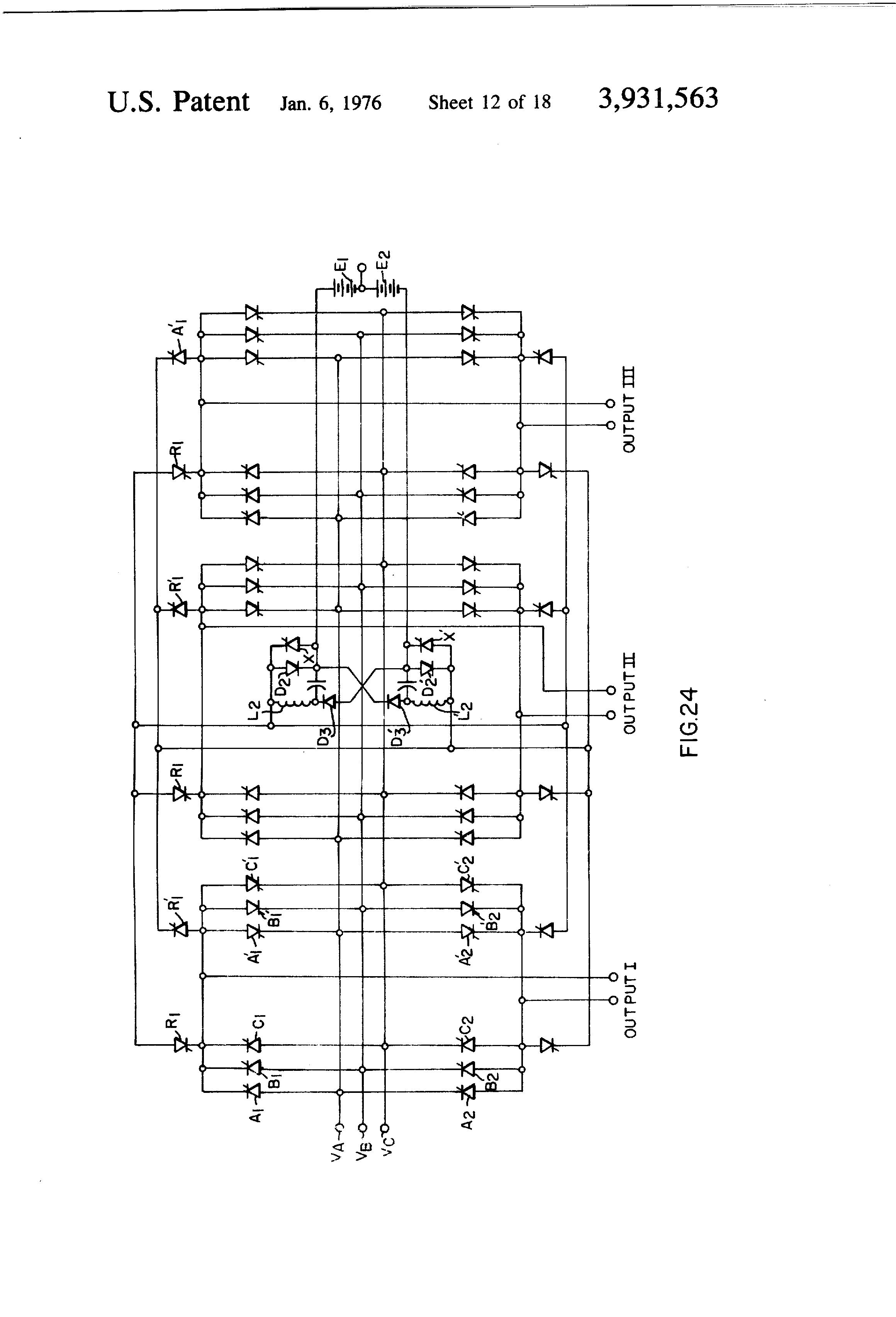 patent us3931563