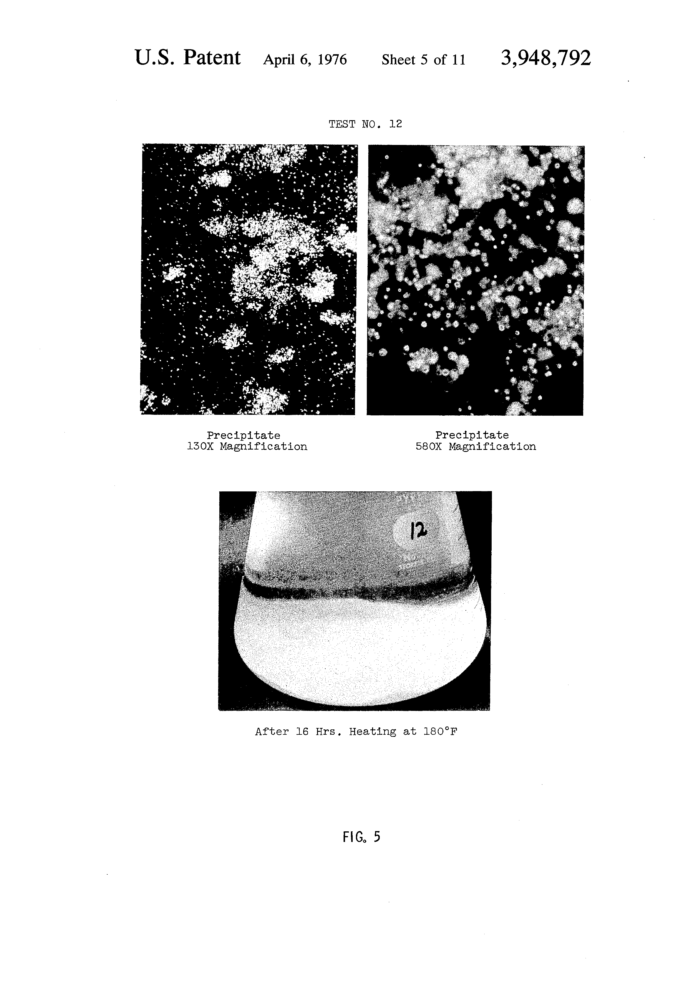 Patent Us3948792 Corrosion And Scale Softening Composition Engine Coolant Drawing