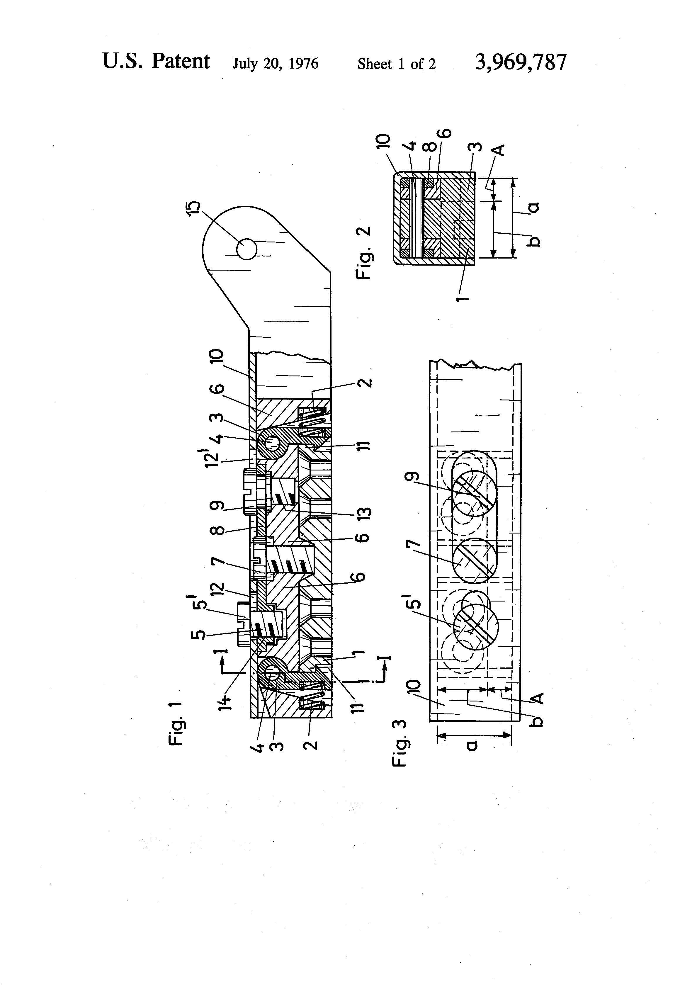 Patent US3969787 - Hinge device - Google Patents