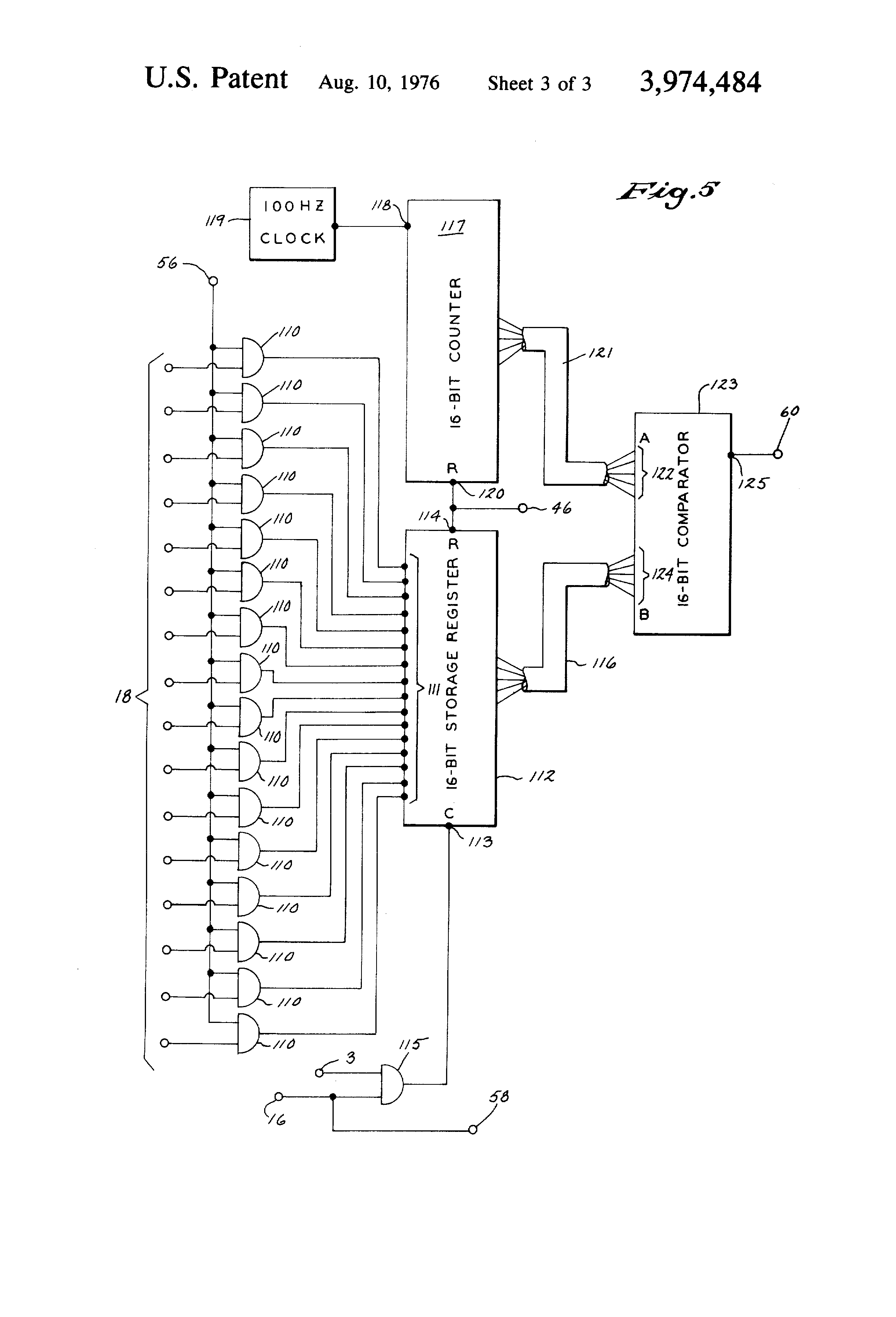 Patente Us3974484 Programmable Sequence Controller Google Patentes Logic Diagram 7493 Patent Drawing