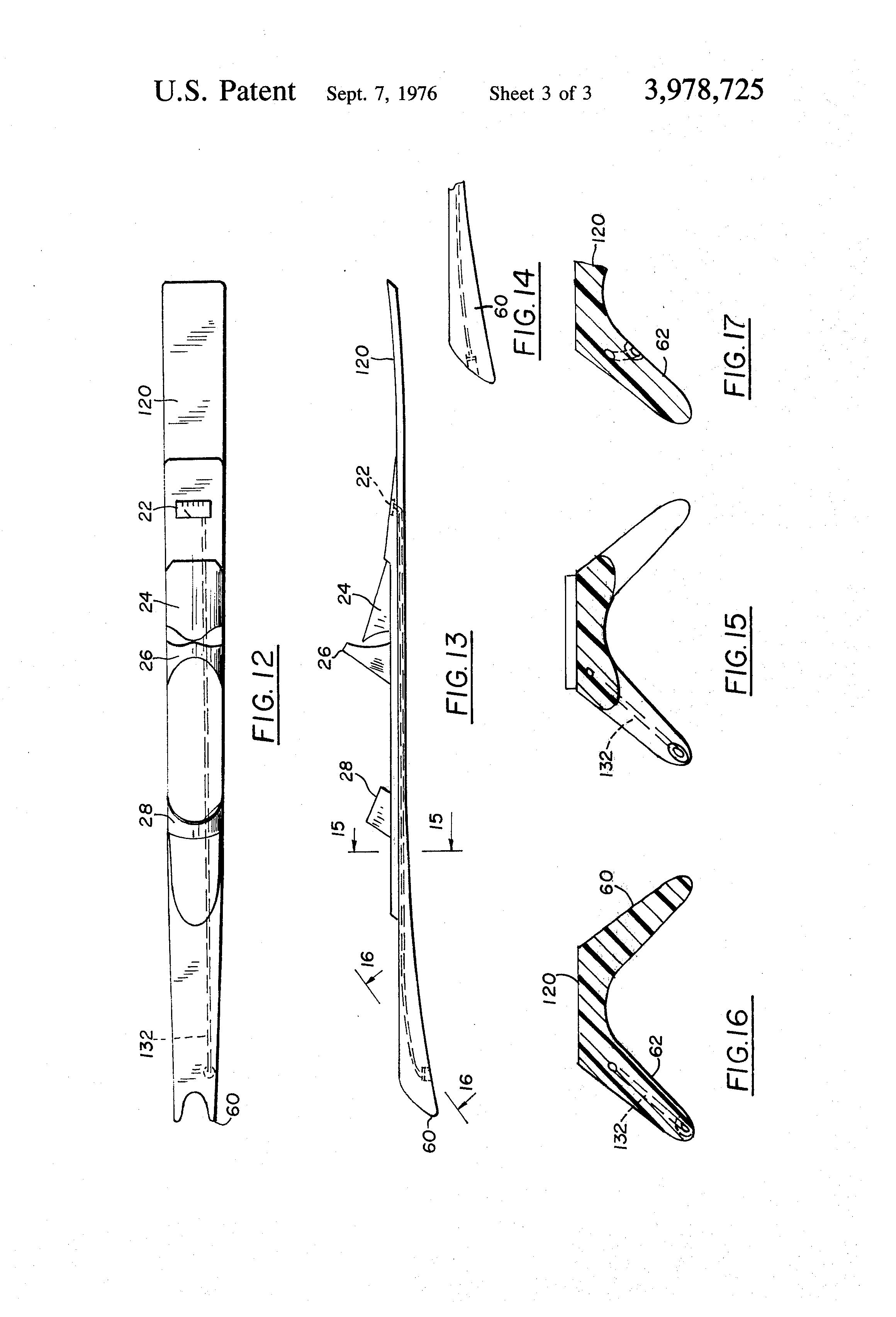 US3978725 on Liquid Filled Pressure Gauge