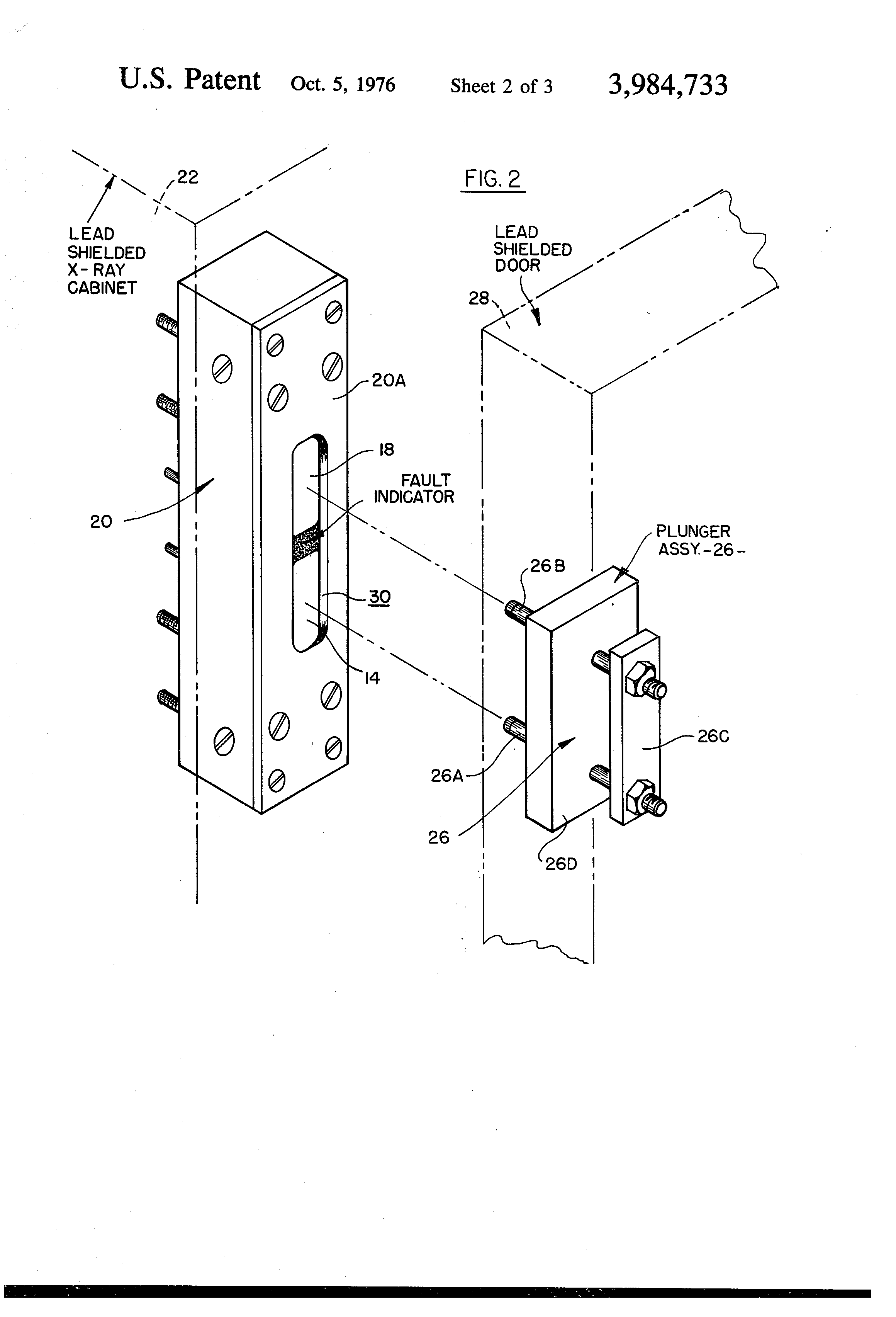 Patent Us3984733 Interlock Safety Switching Circuit For