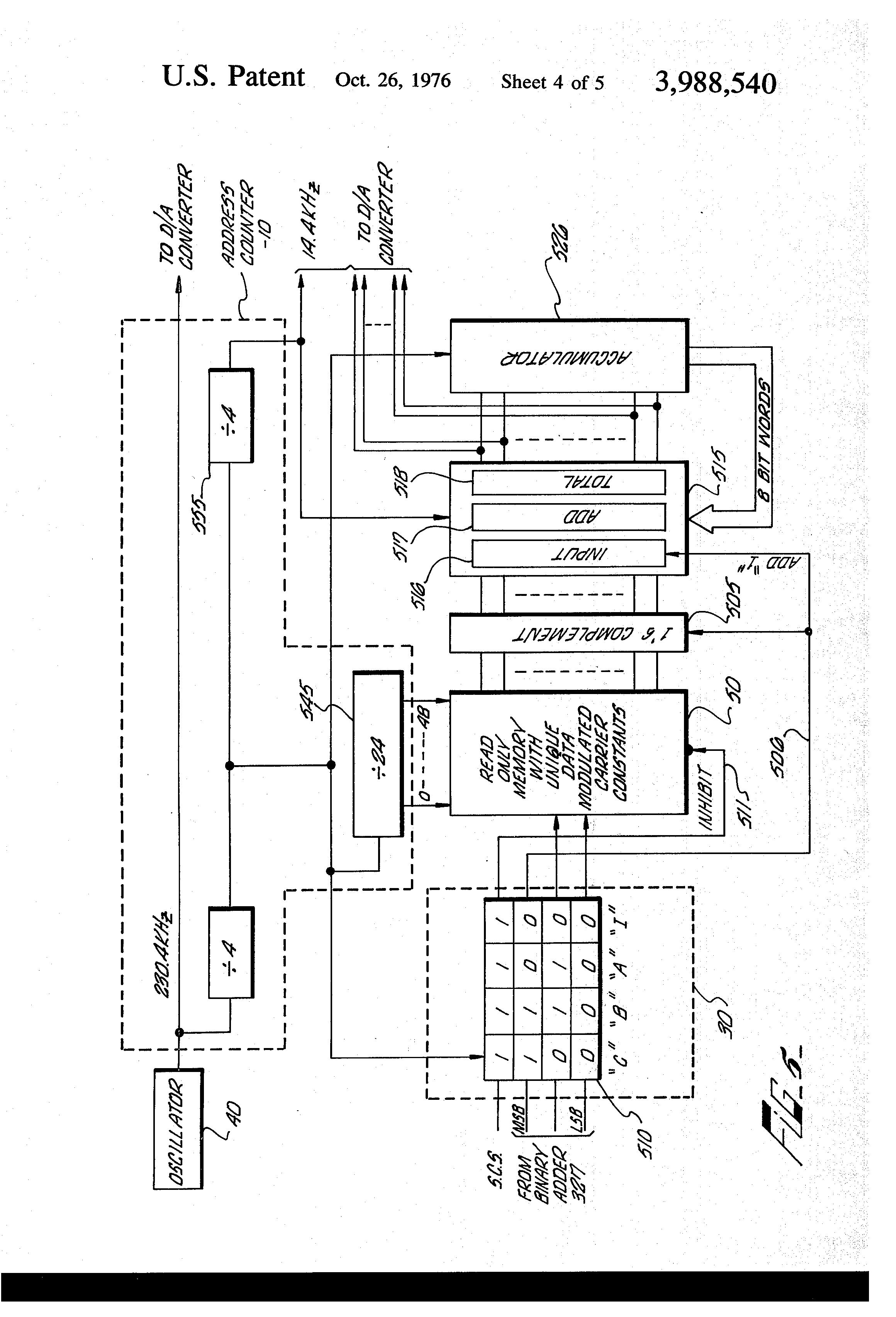 patent us3988540
