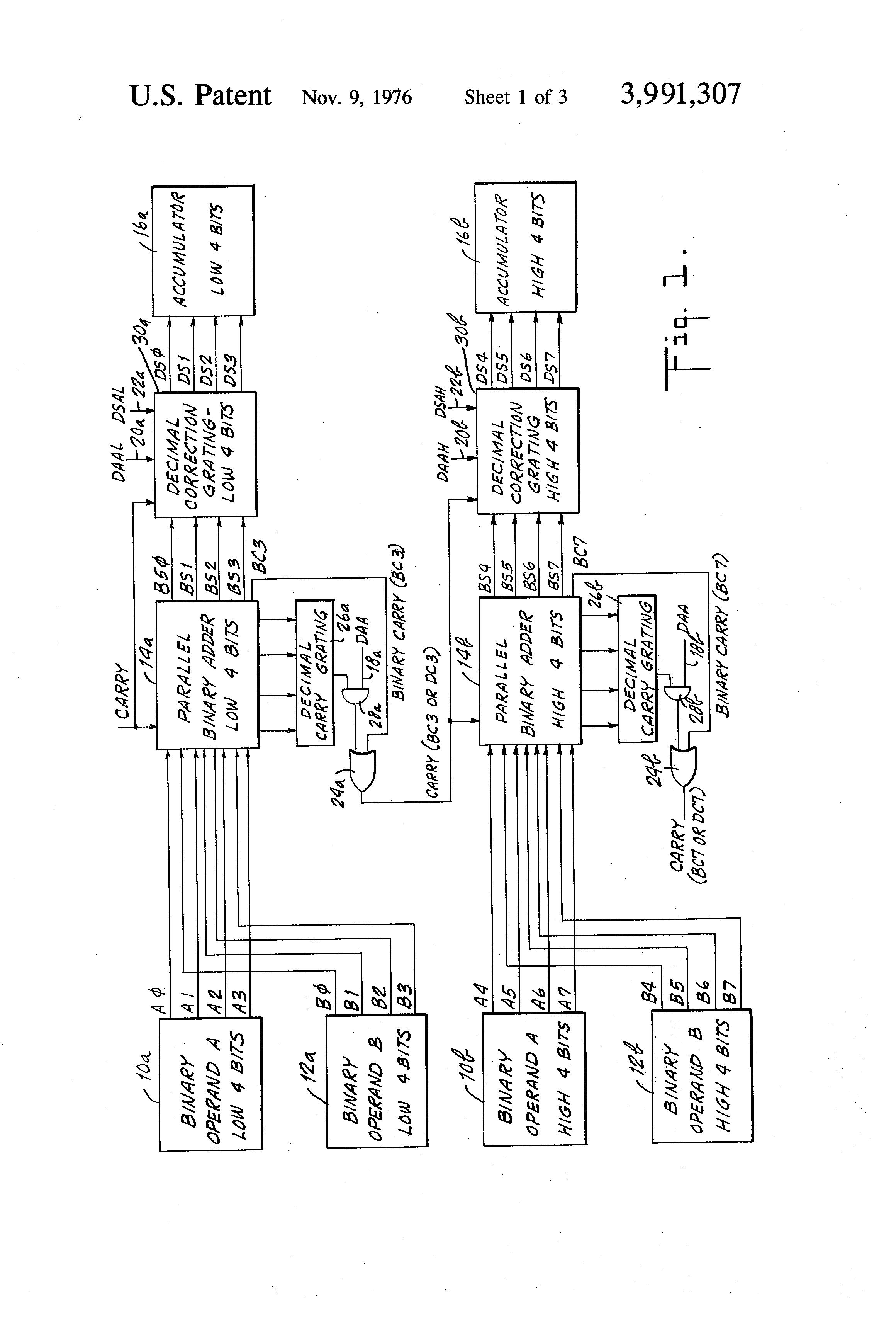 patent us3991307