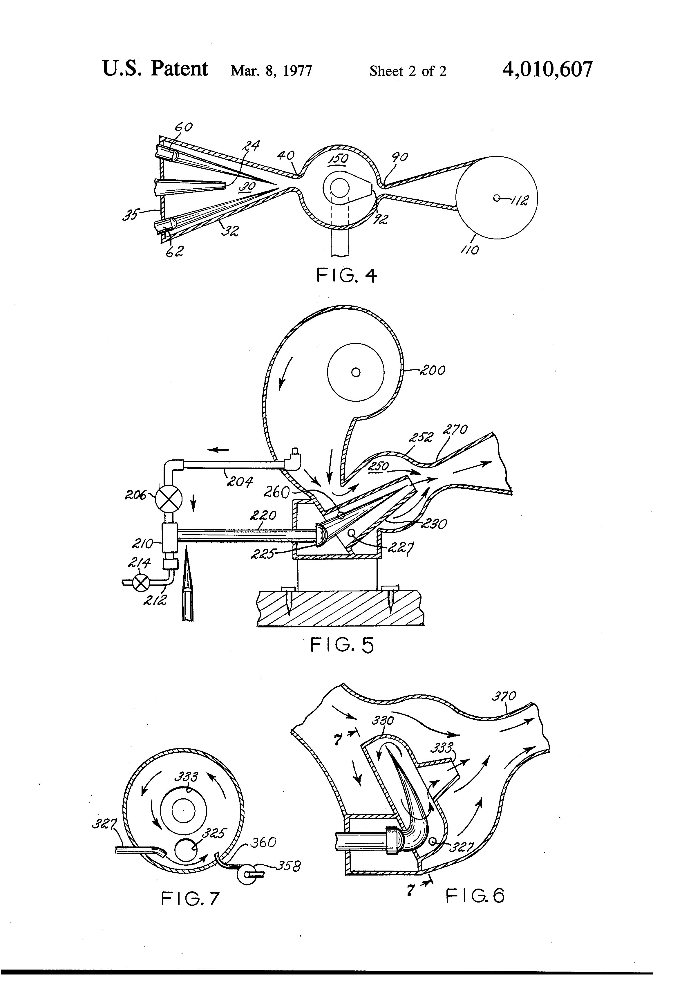Patent Us4010607 Internal Combustion Engine With Afterburner Illustrated Diagram Of A Basic Drawing