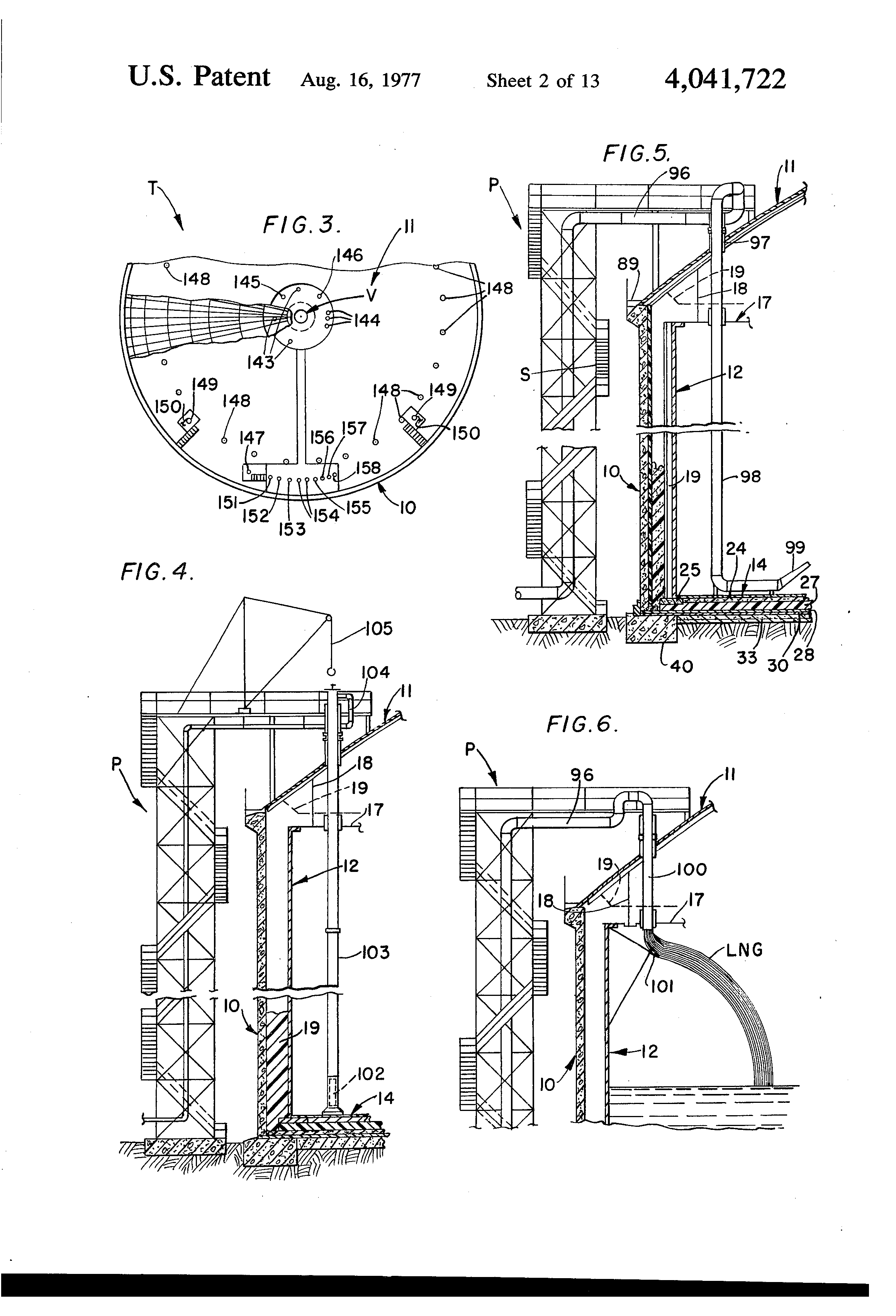 Concrete Dike Wall Design : Patent us impact resistant tank for cryogenic
