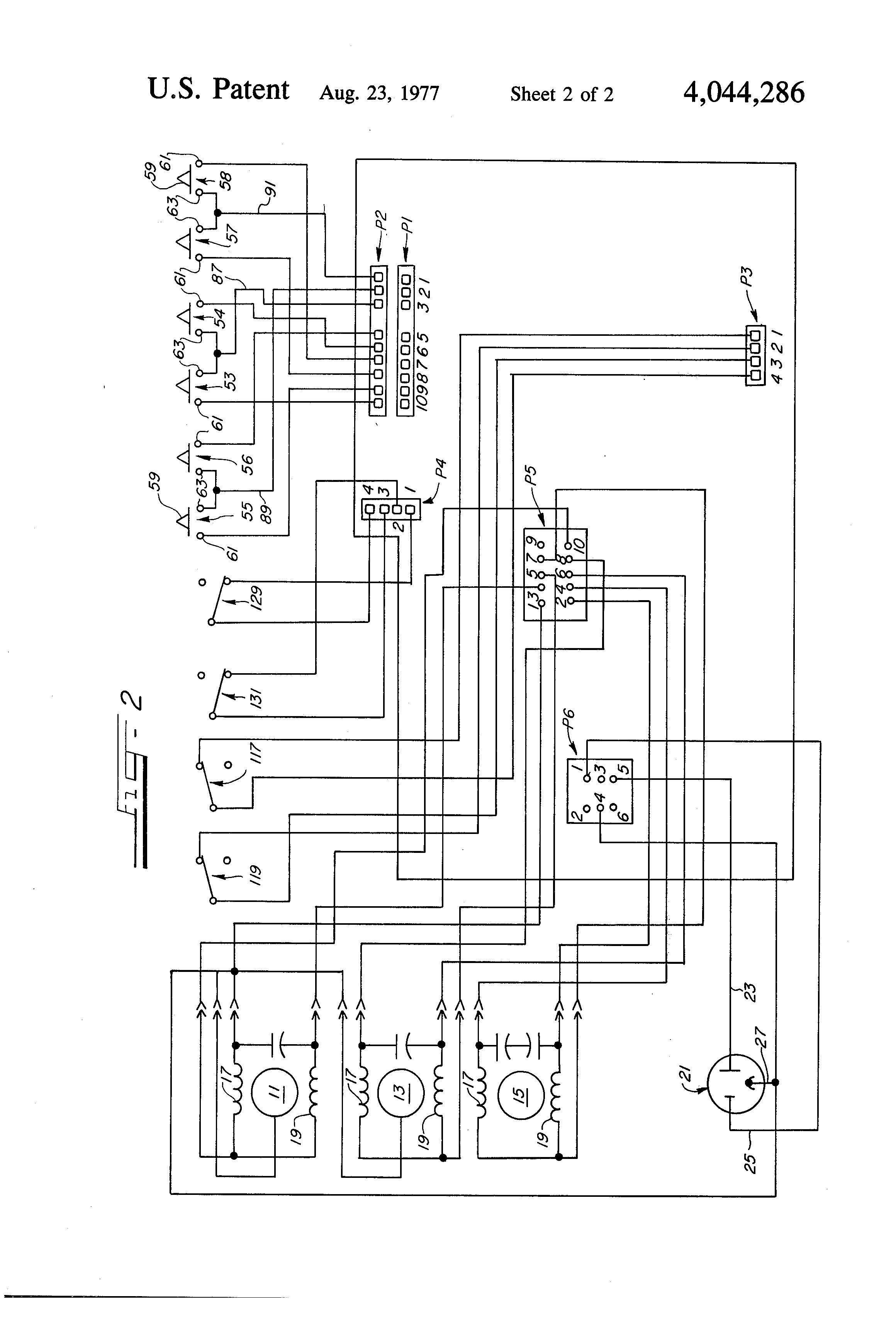 US4044286 2 hospital bed wiring diagram wiring diagram and schematic design wiring diagram for cm truck bed at aneh.co