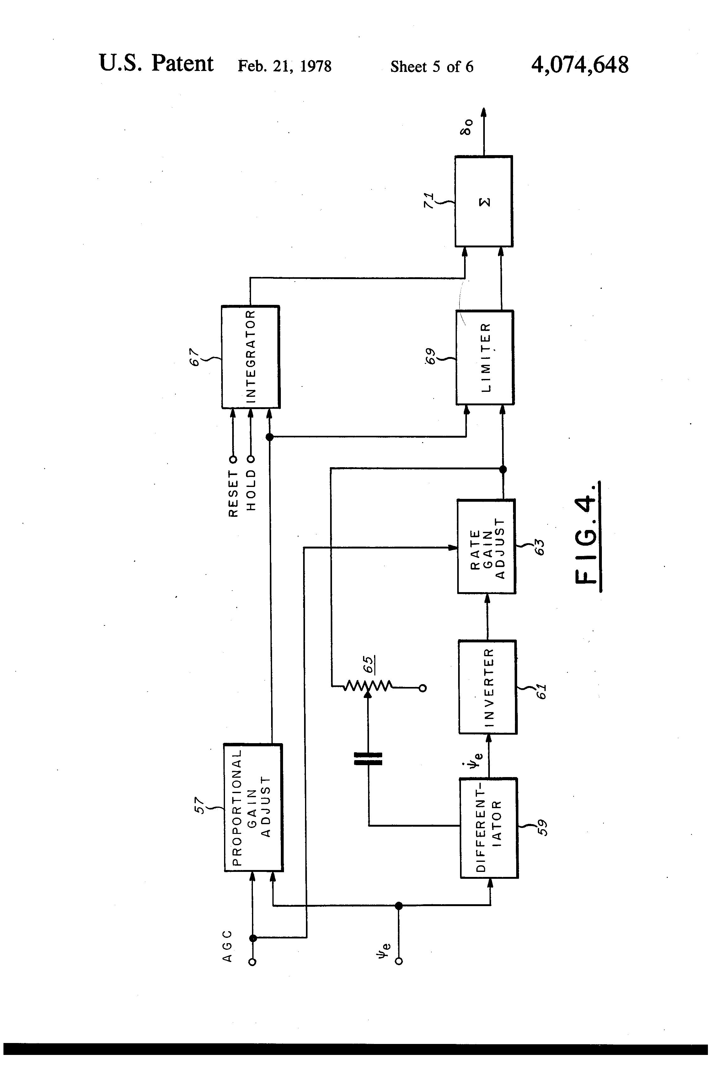 Us4074648a Adaptive Autopilot For Marine Vessels Google Patents Pin Current Sensor Schematic On Pinterest