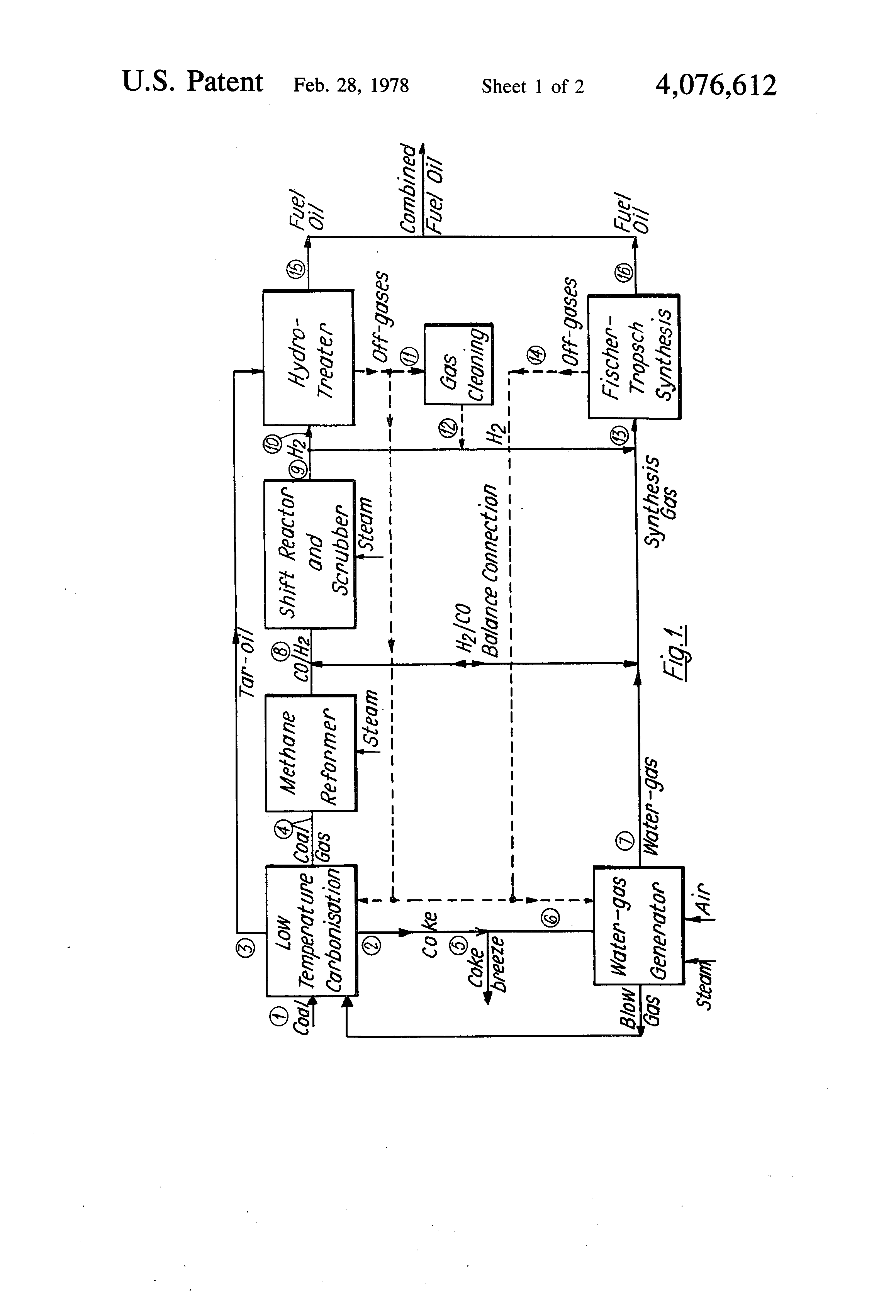 Patent US Process for obtaining liquid fuel oil and or