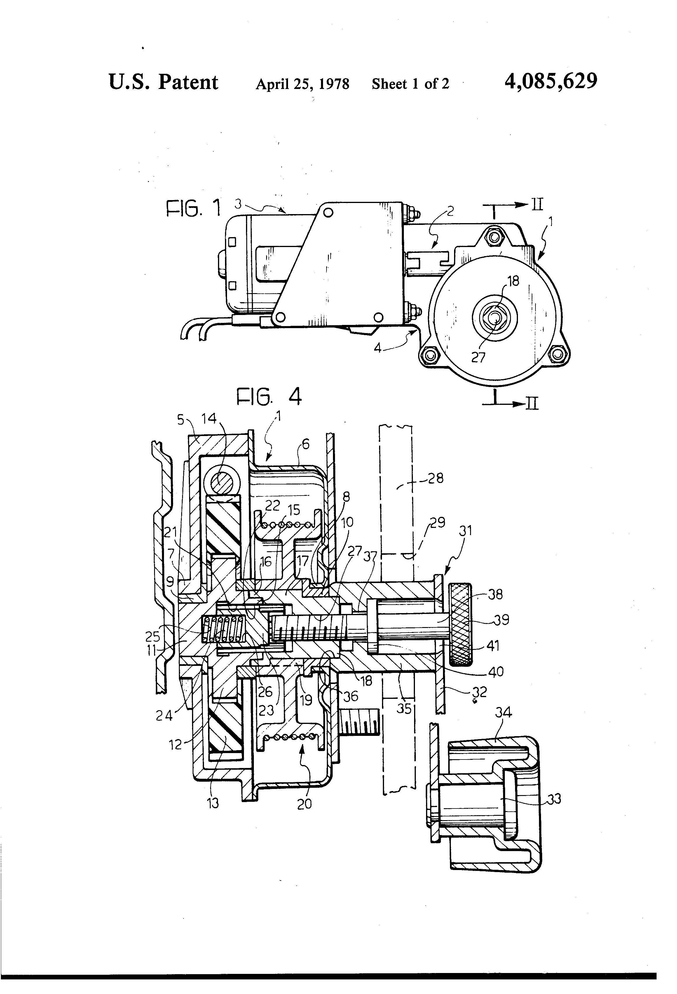 patent us4085629