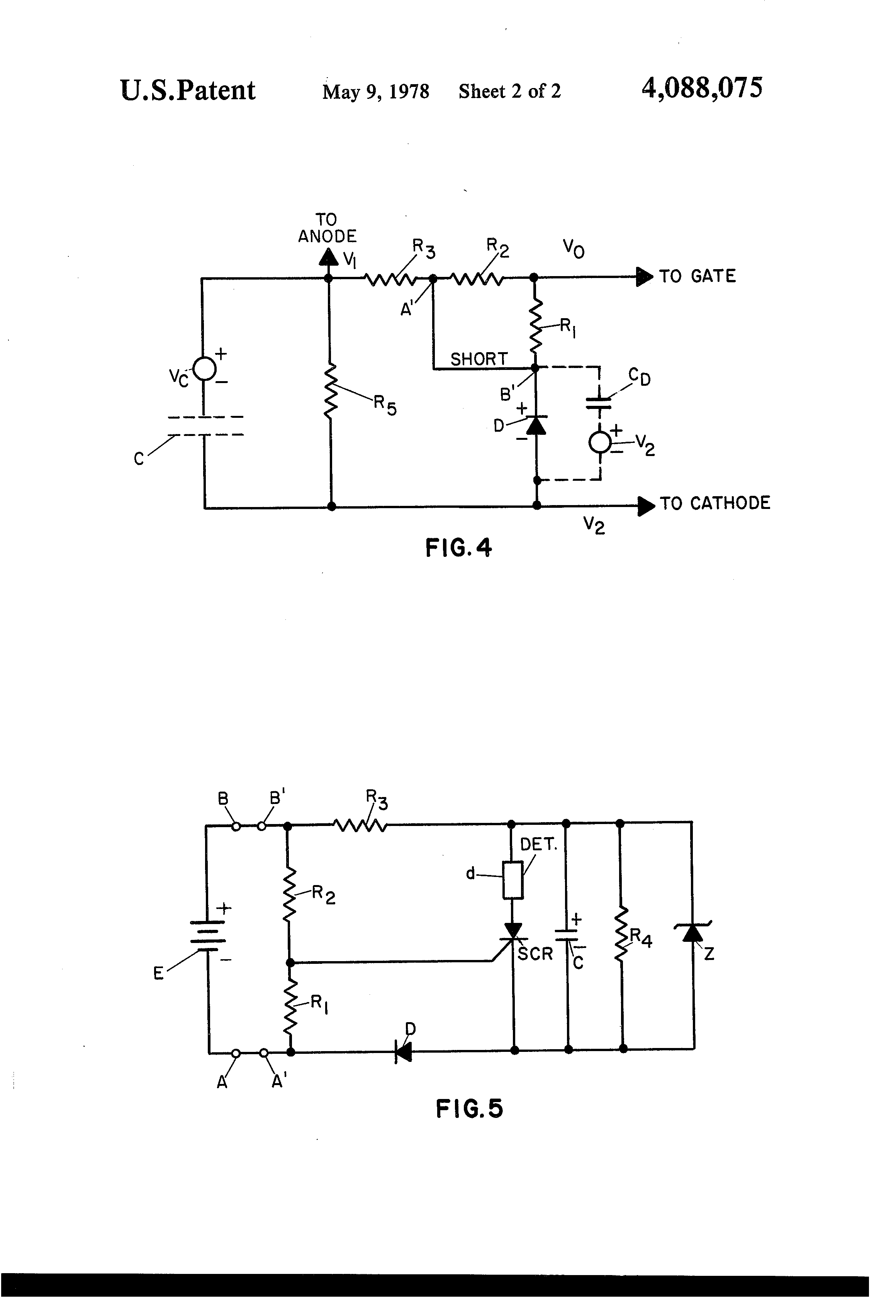 Patent Us4088075 Firing Circuit Google Patentsuche Scr Turnon Characteristics Electronic Circuits And Diagram Drawing