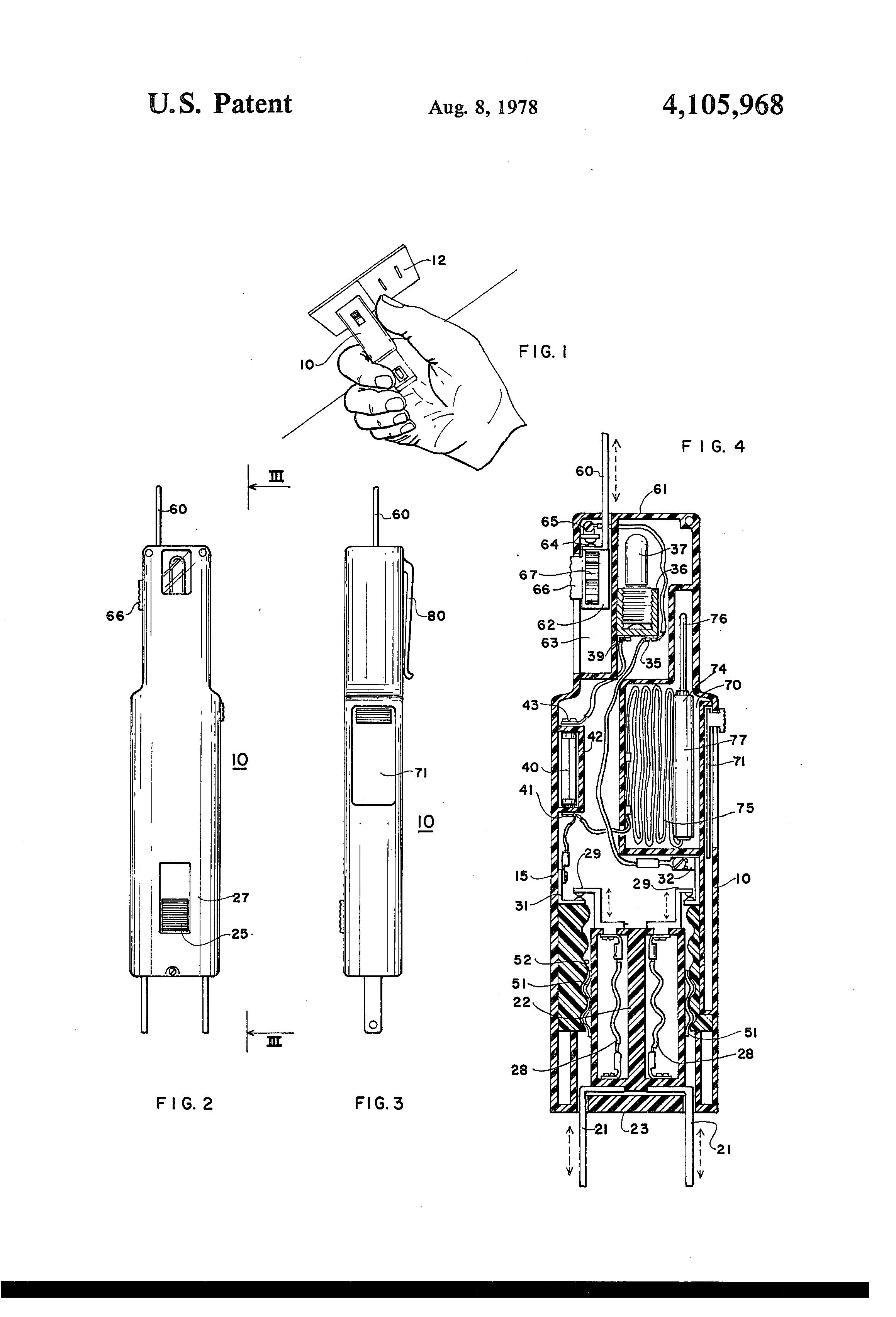 patent us4105968