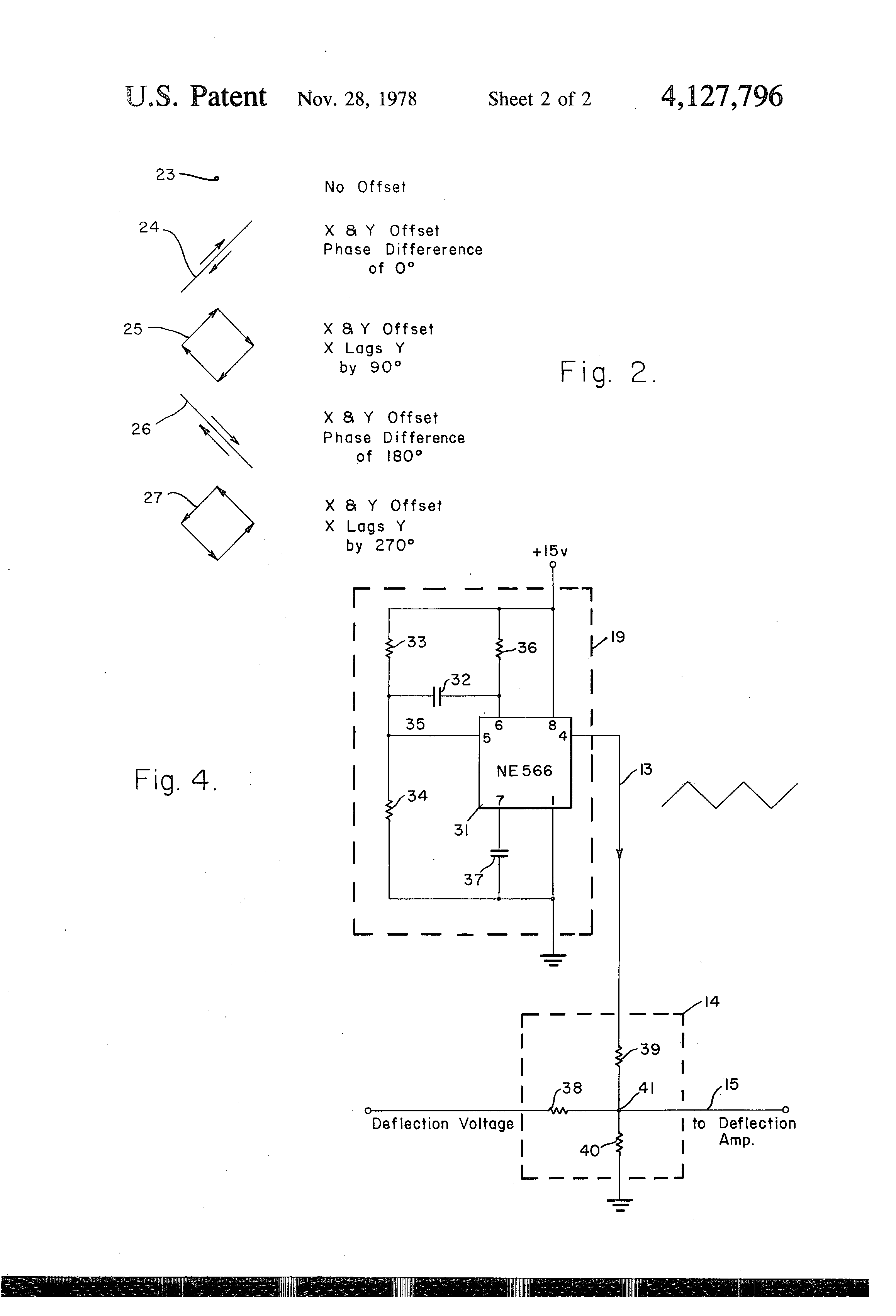 Patent Us4127796 Crt Display Anti Burn Circuit Google Patentsuche Screen Schematic Drawing