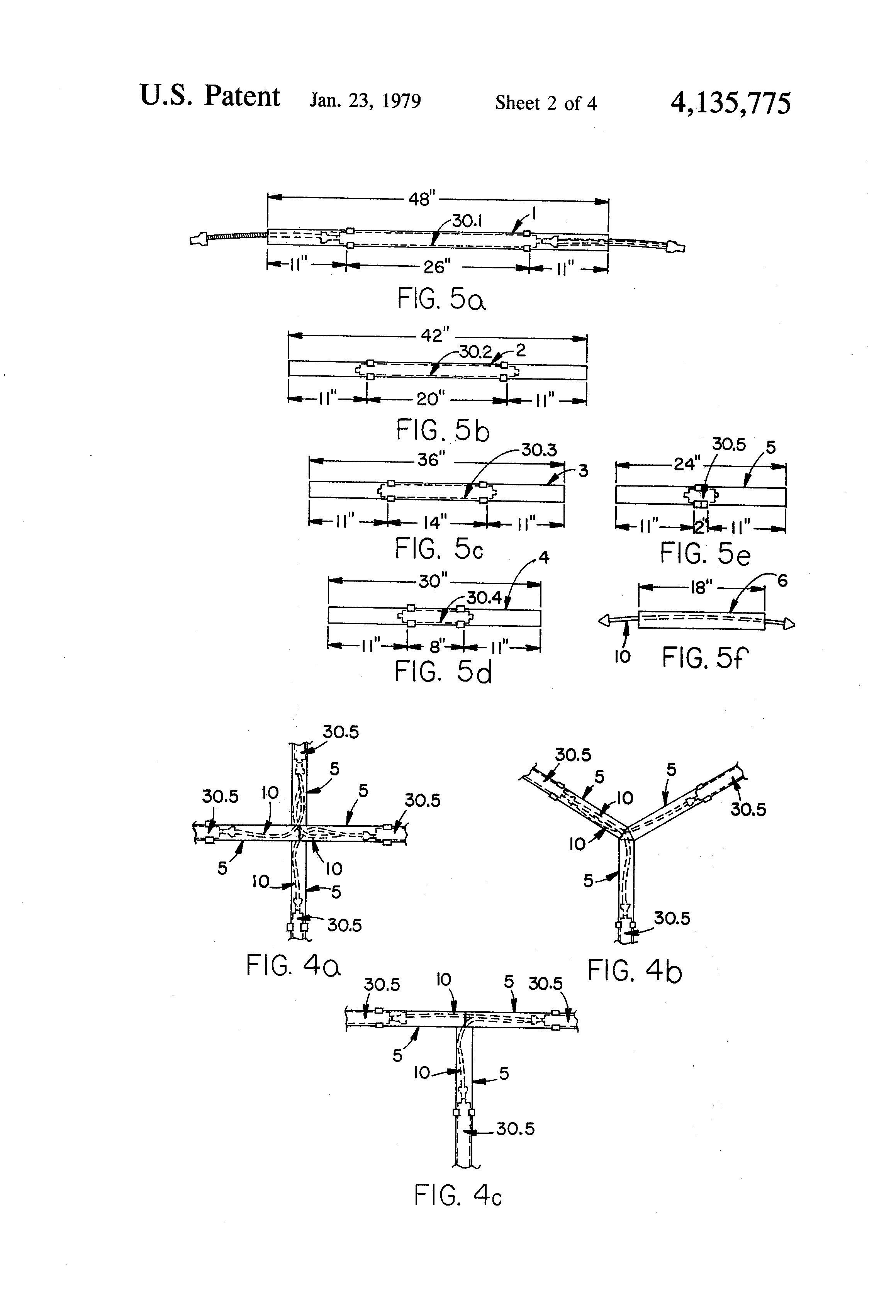 Patent Us4135775 Movable Divider Panels With Electrical Wiring Us Drawing