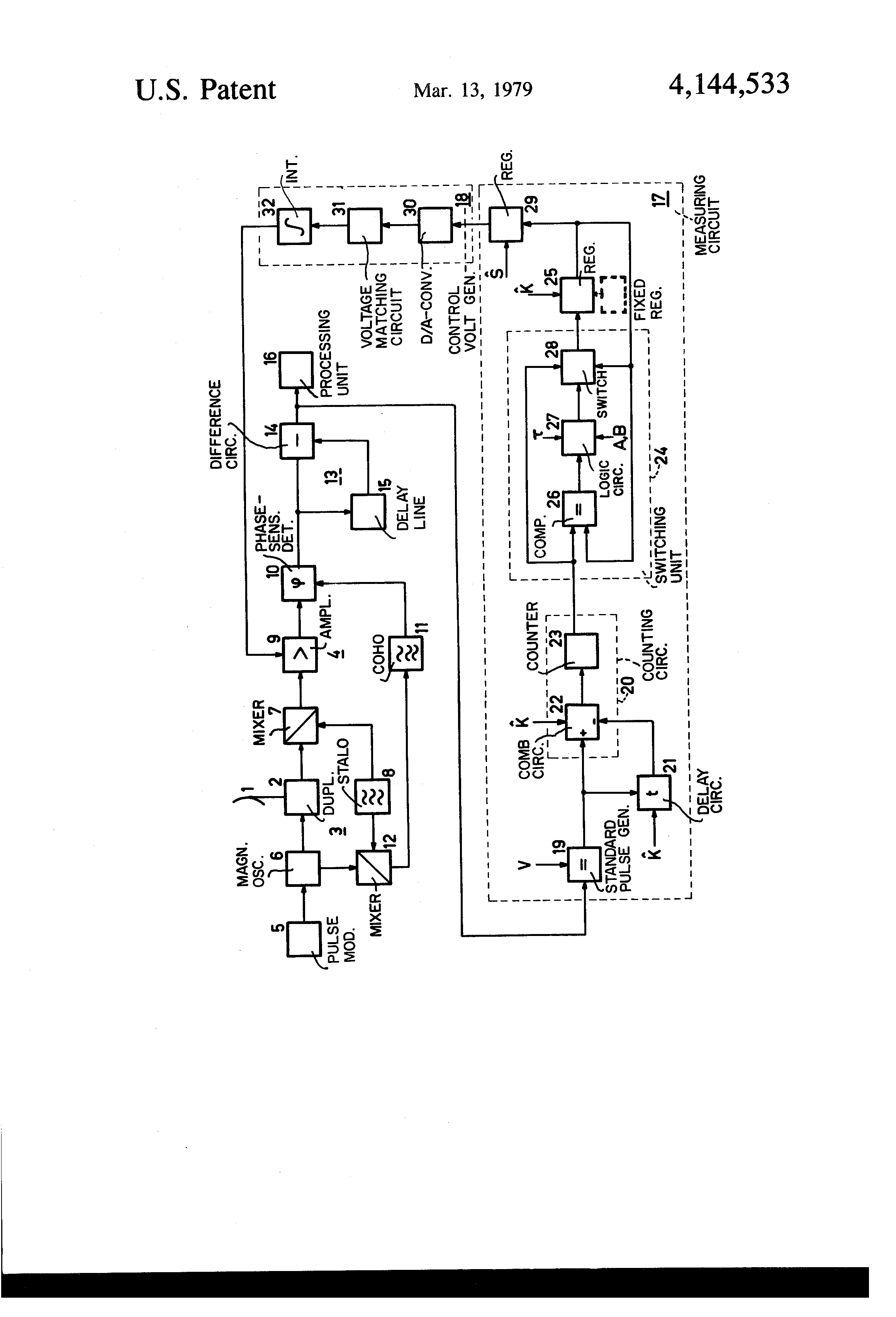 Brevet US4144533 - Automatic gain control circuit for a