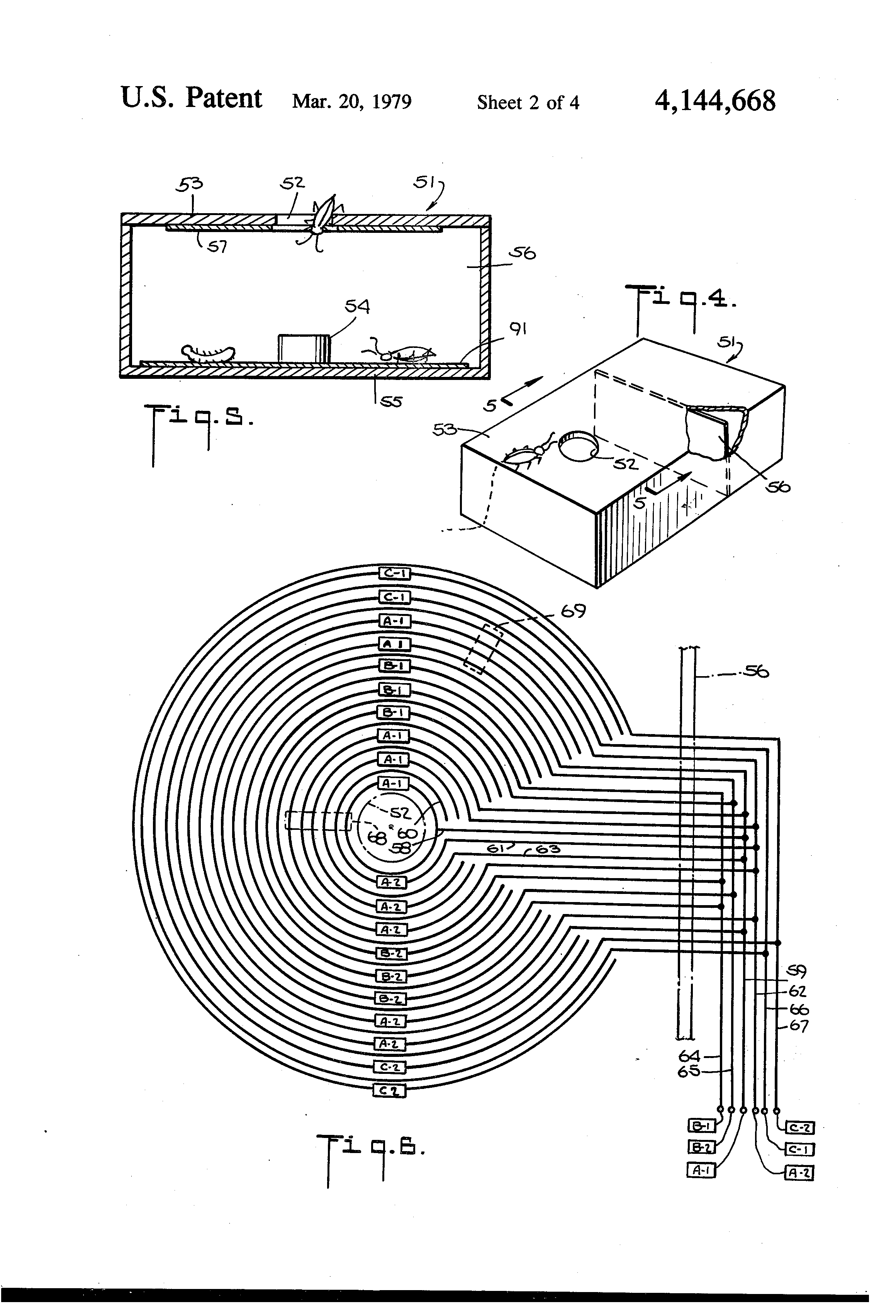 Patent Us4144668 Insect Trap Google Patents Electronic Mosquito Repellent Circuit Using 555 Ic Circuits Drawing