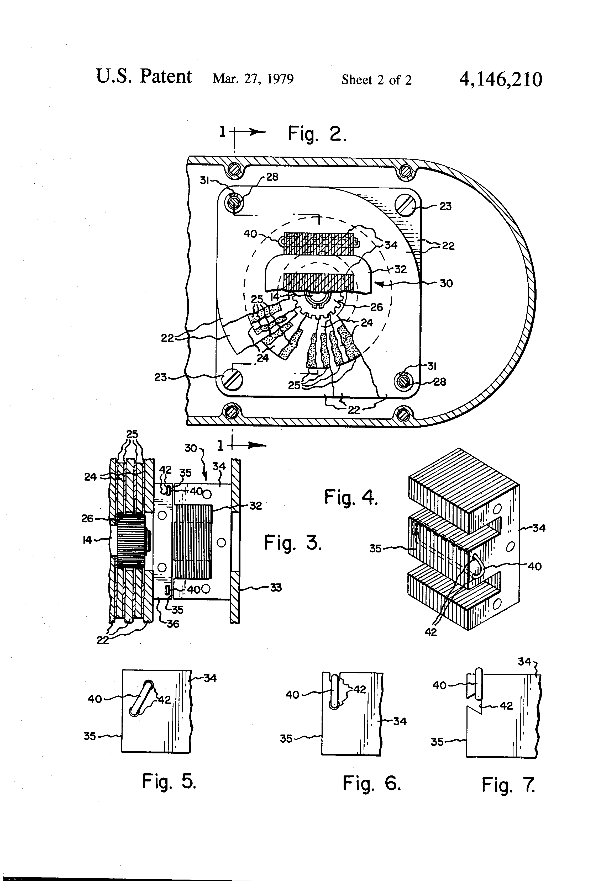 Patent Us4146210 Hoist Electric Brake With Shading Coil