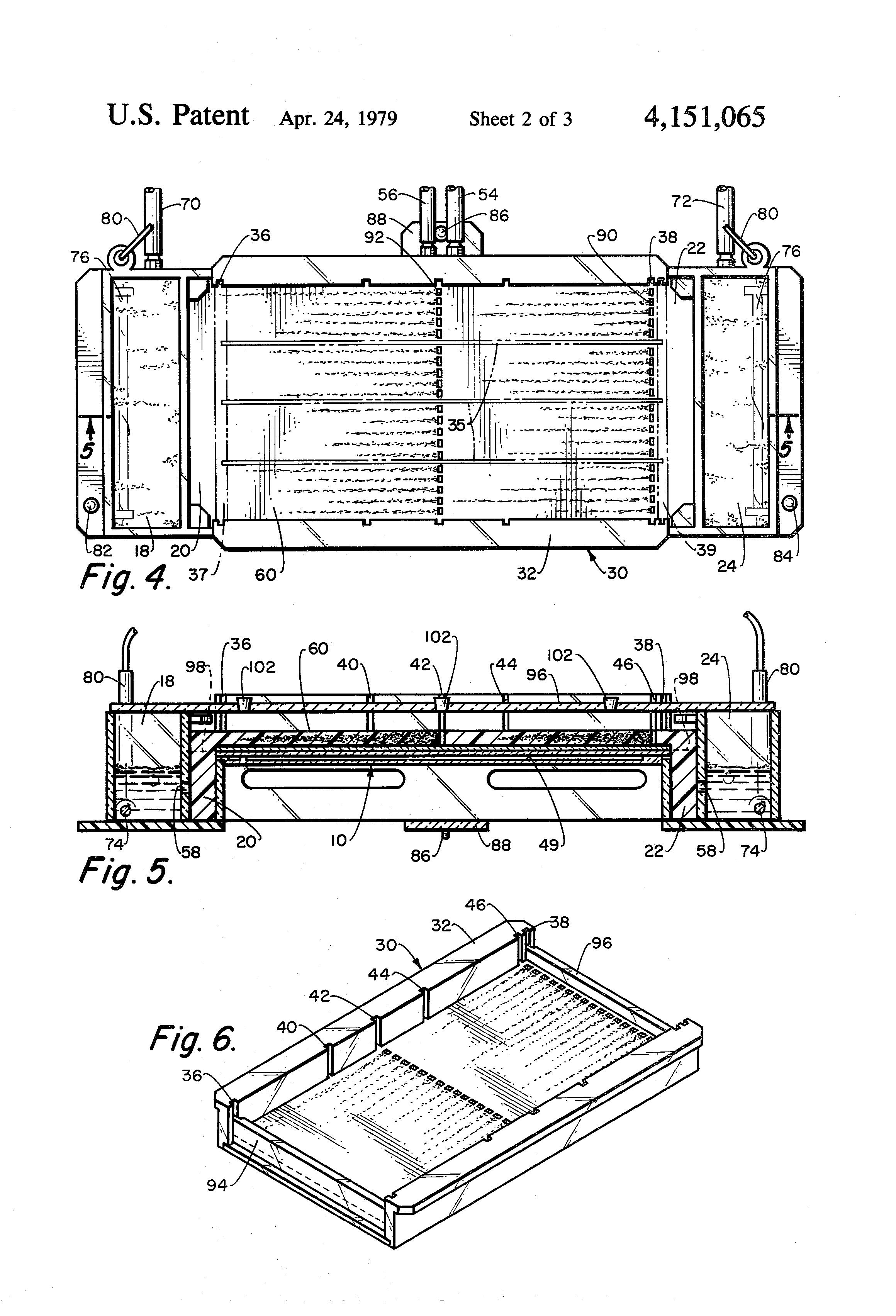 patent us4151065 - horizontal slab gel electrophoresis
