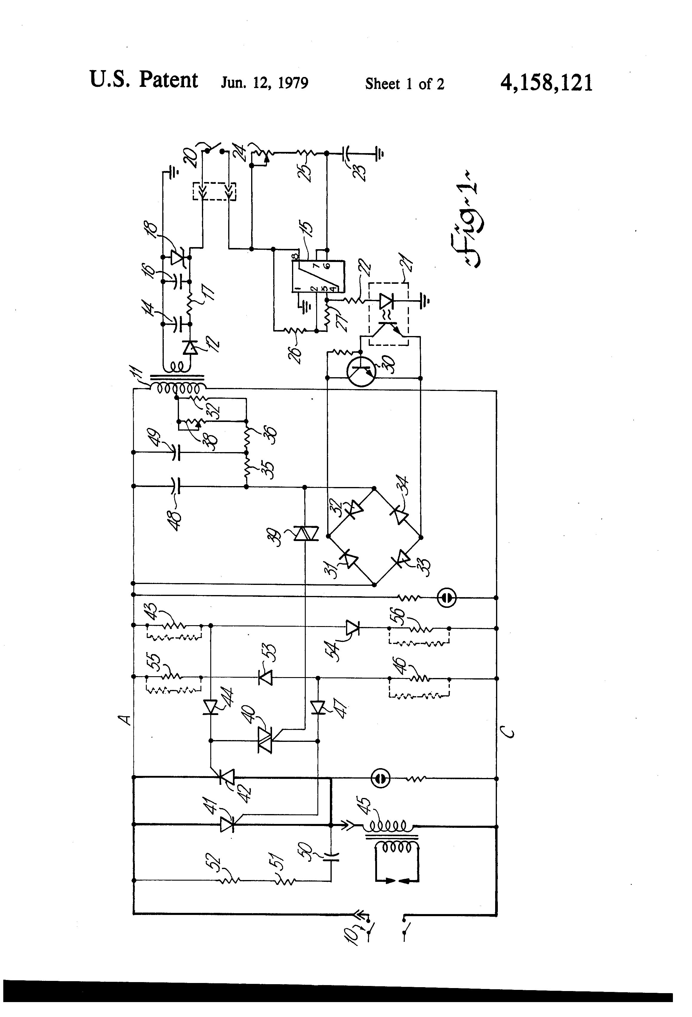 welding inverter circuit diagram patent us4158121 - spot welder control circuit - google ... #14