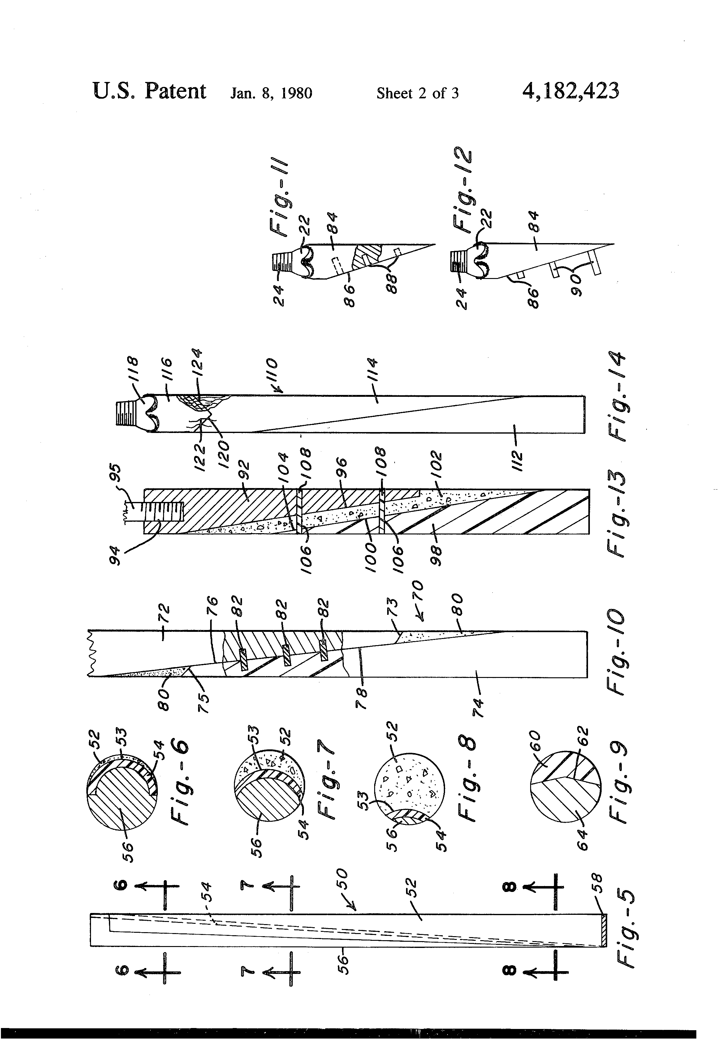 Patent Us4182423 Whipstock And Method For Directional Well Lowe 170 Wiring Diagram Drawing