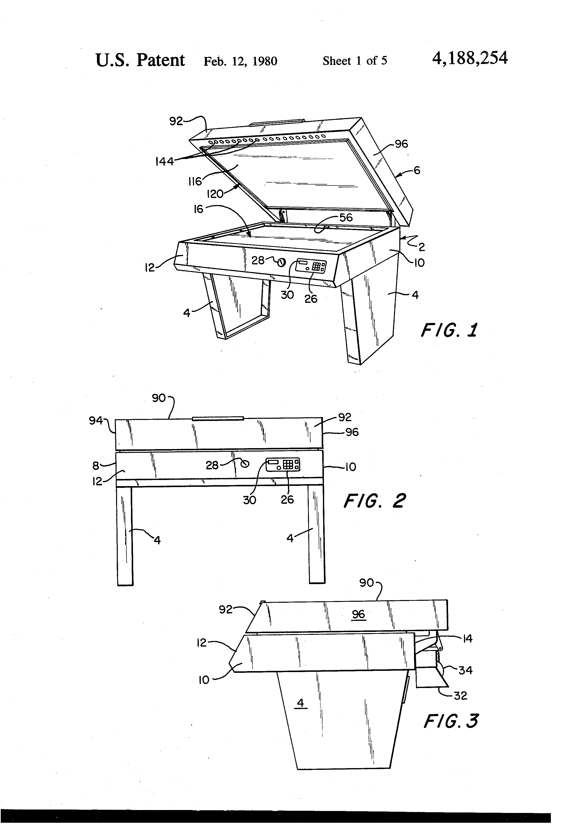 Patent US4188254 - Vacuum press - Google Patents