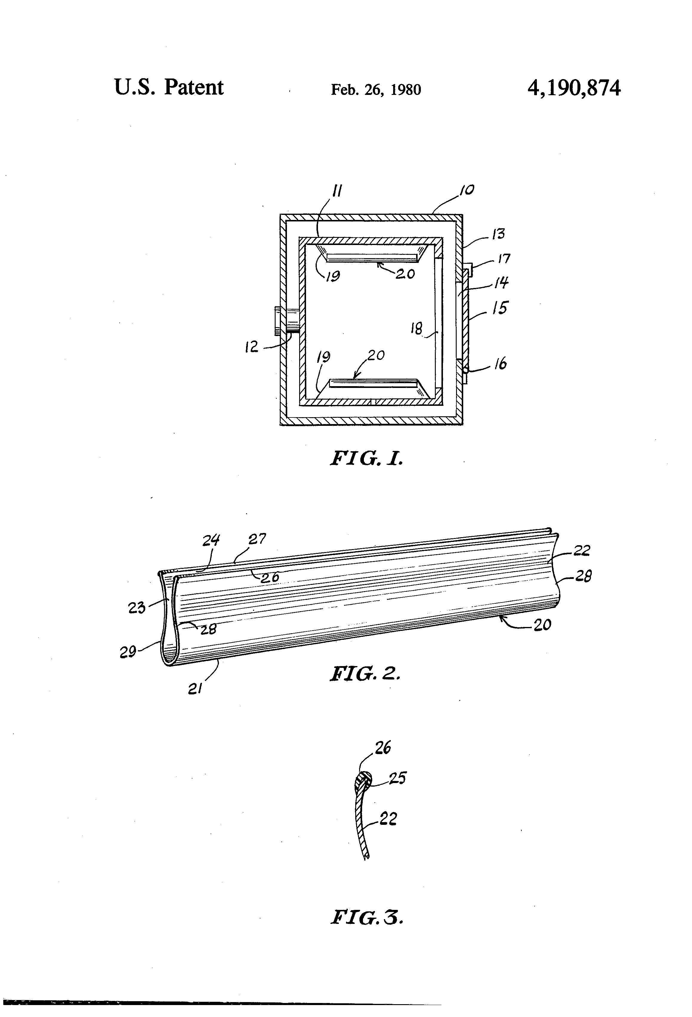 Patent US4190874 - Anti-static device for clothes dryers