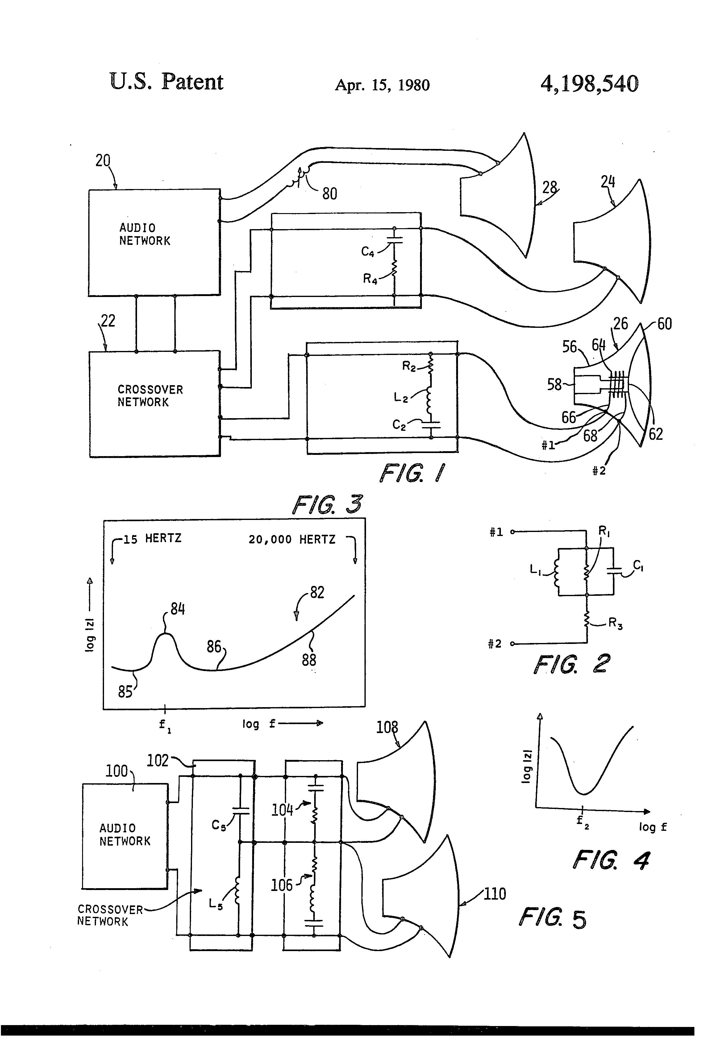 brevet us4198540 pensated crossover network brevets Enterprise Logical Design Diagram