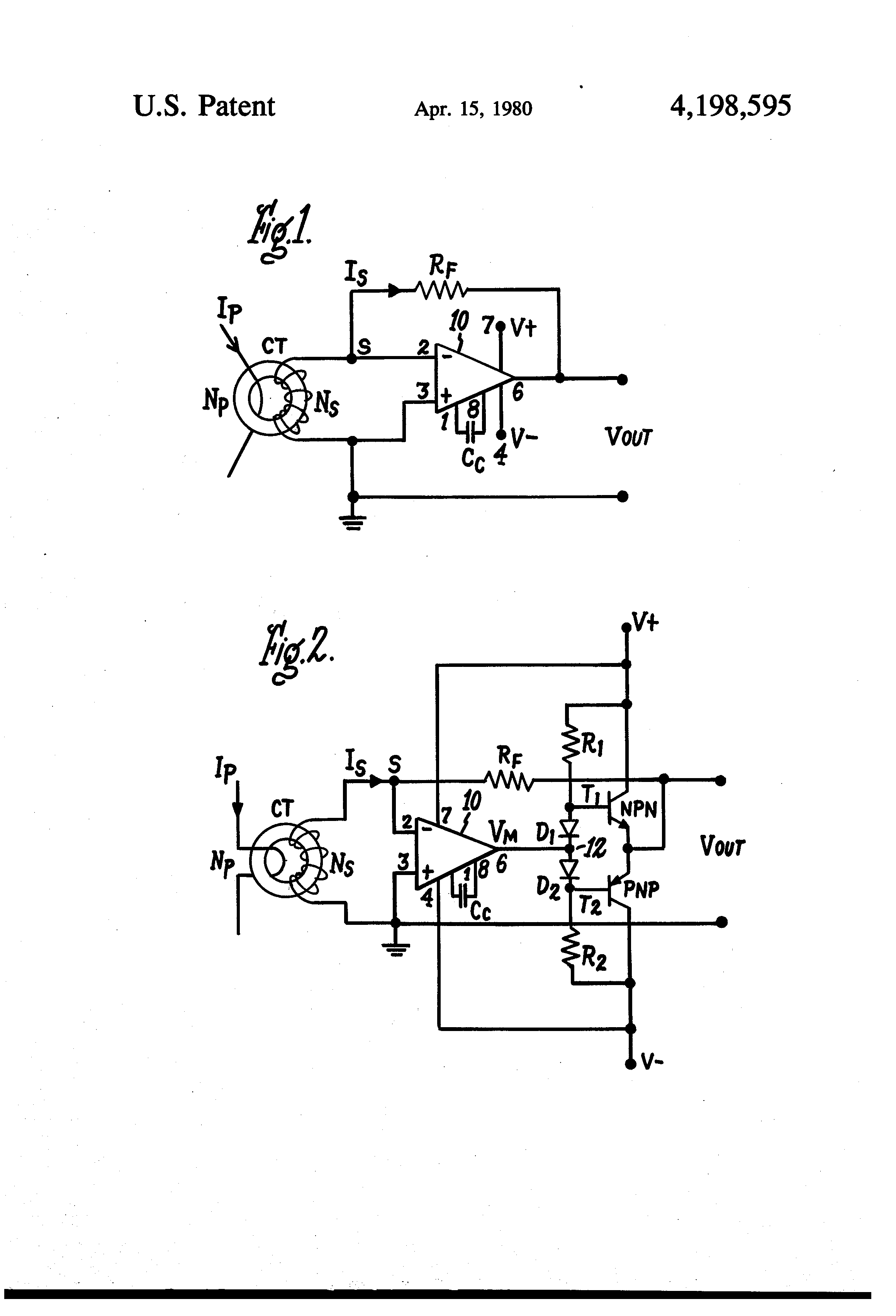 Patent Us4198595 Apparatus And Method Of Phase Shift Compensation Oscillator Circuit Explanation Using Opamp Transistor Drawing