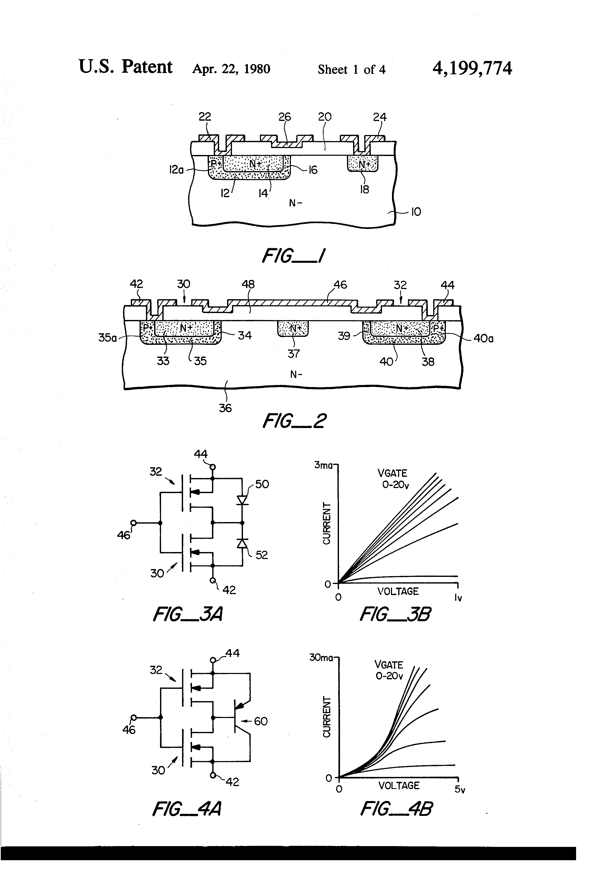 Patent Us4199774 Monolithic Semiconductor Switching Device With The Triac This Circuit Can Also Be Used To Improve Immunity Drawing