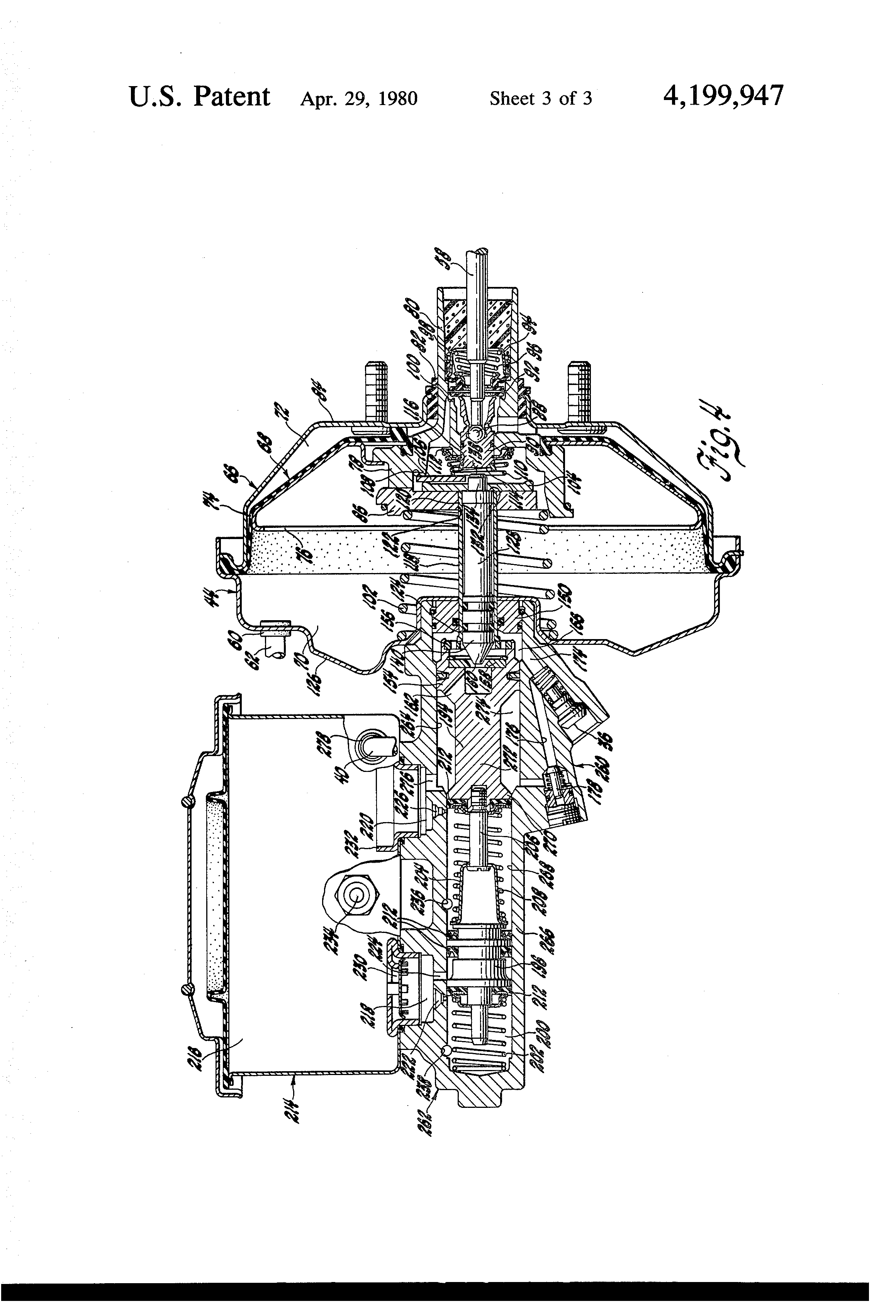 Patent Us4199947 Dual Power Brake Booster System Google Patents Figure 16 Hydraulic Schematic Diagram Drawing