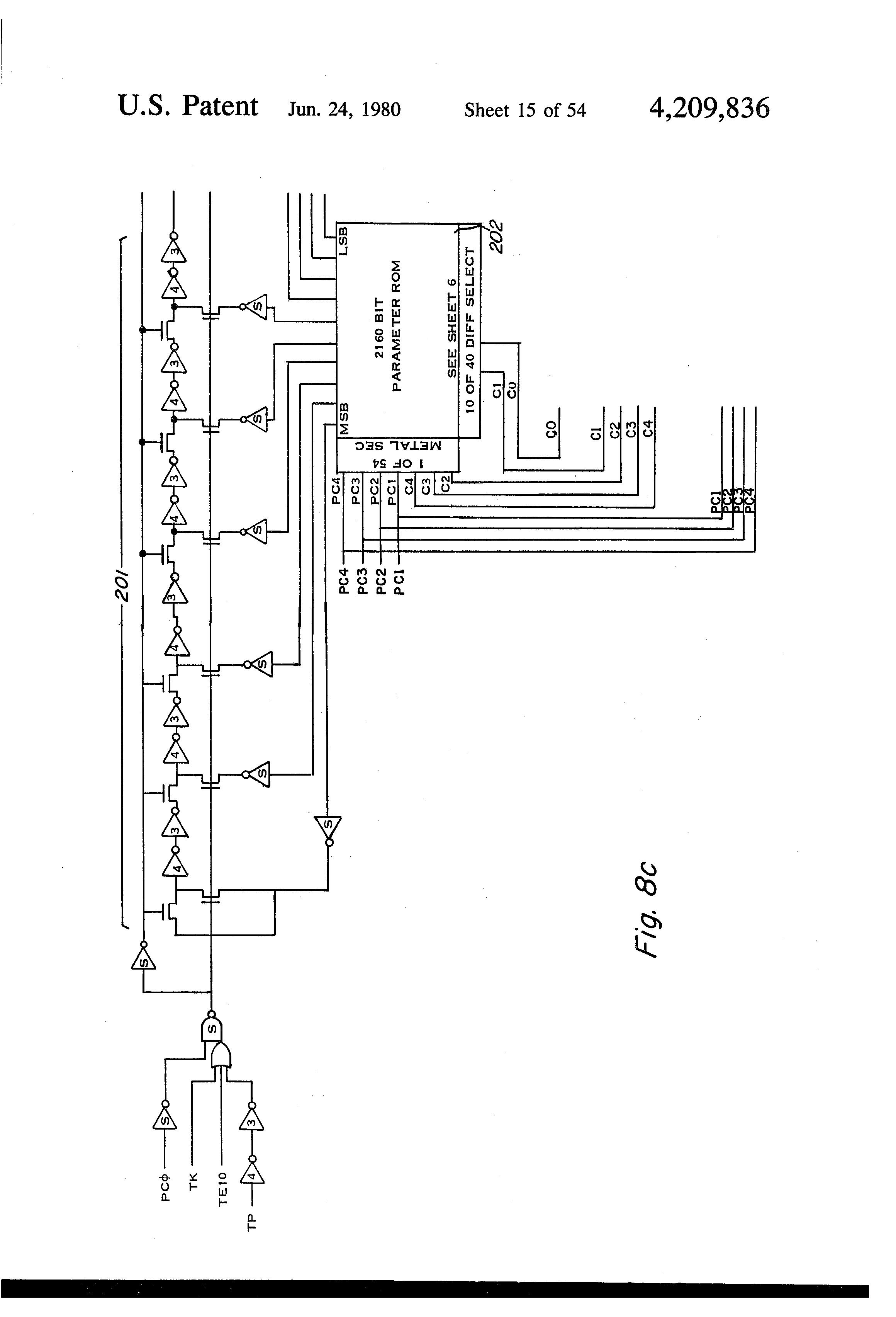 patent us4209836
