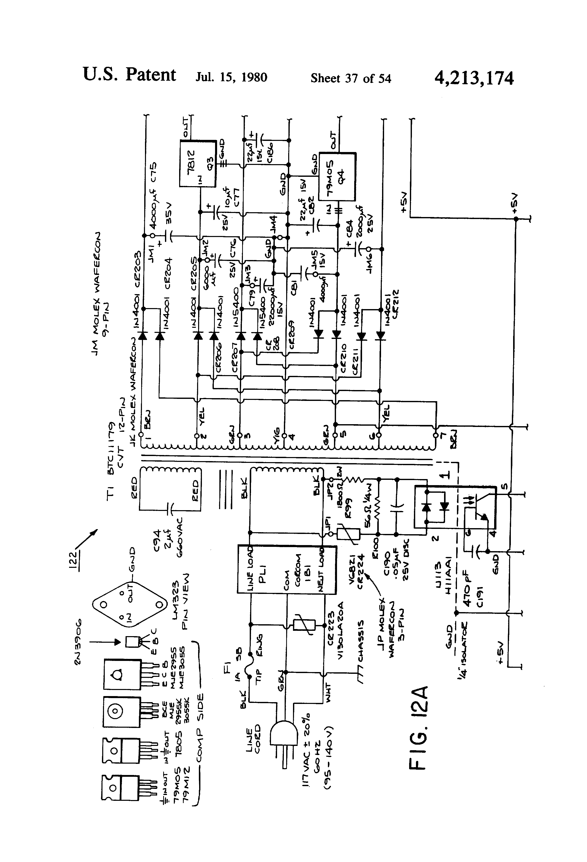 Patent Us4213174 Programmable Sequence Controller With Drum Electronic Components Blog Cd4060 Timer Circuit 1 Minute To 2 Hours Drawing