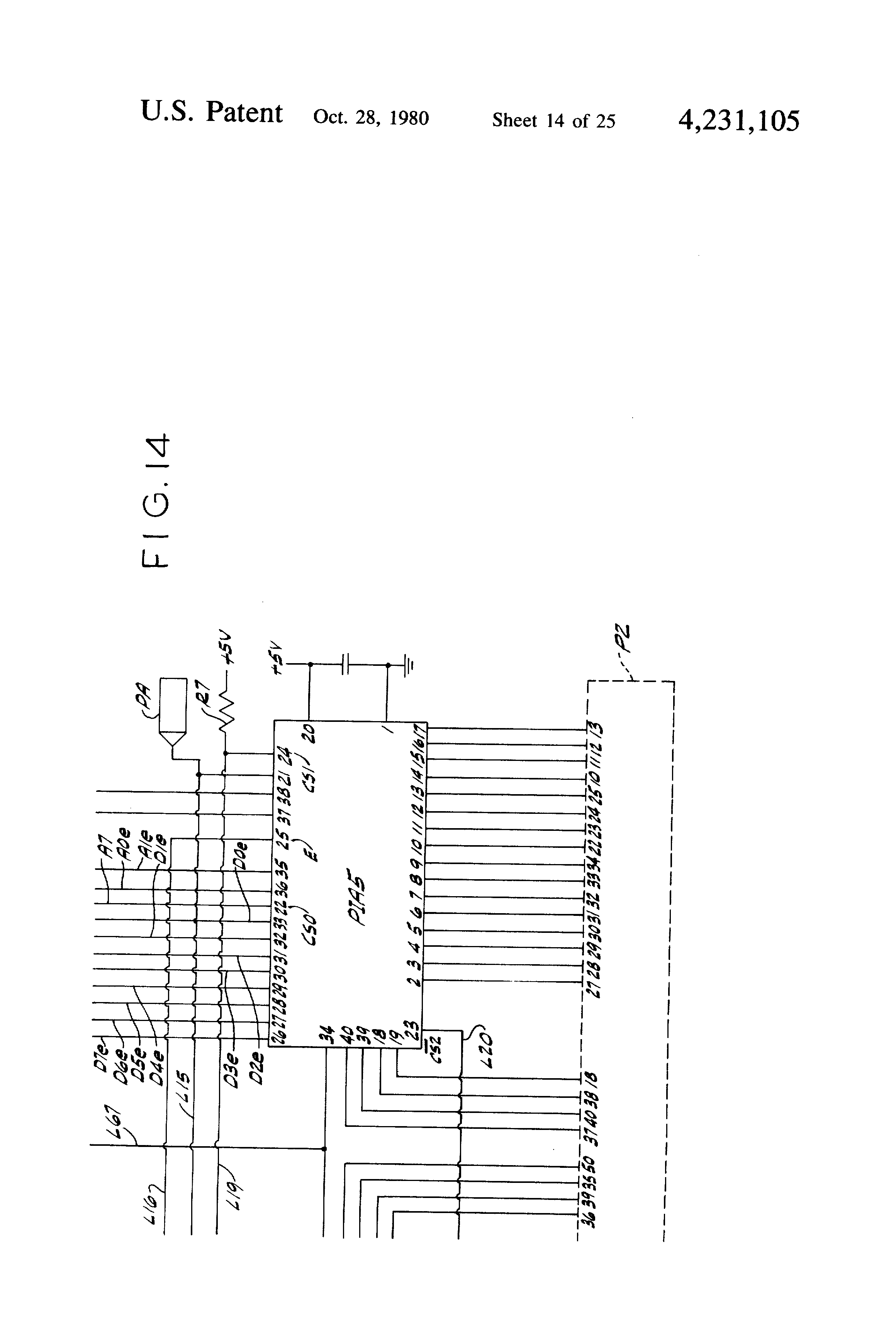 Patent Us4231105 Vendor Control Circuit Google Patents D010 Led Driver Wiring Diagram Drawing