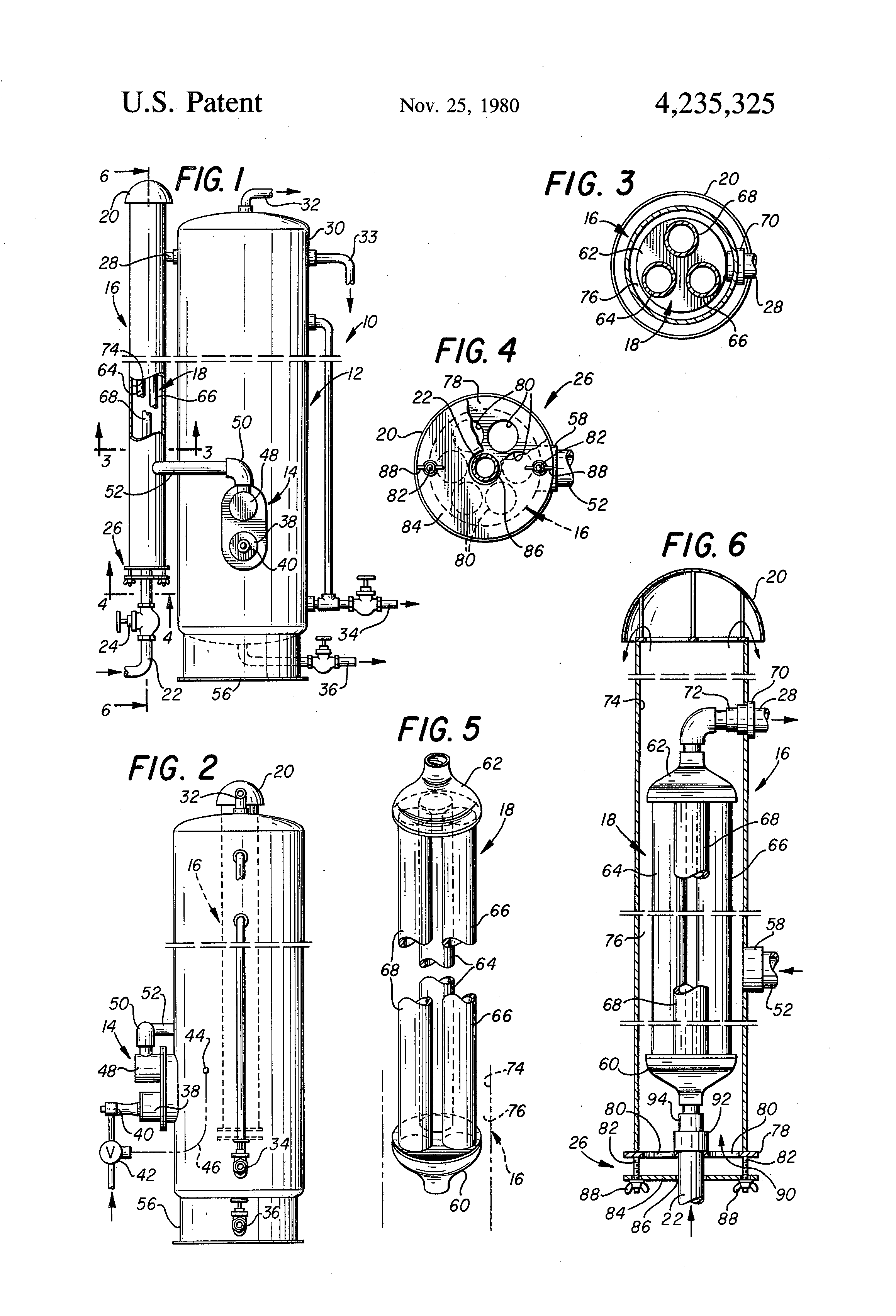 patent us4235325 - heater treater waste heat recovery ...