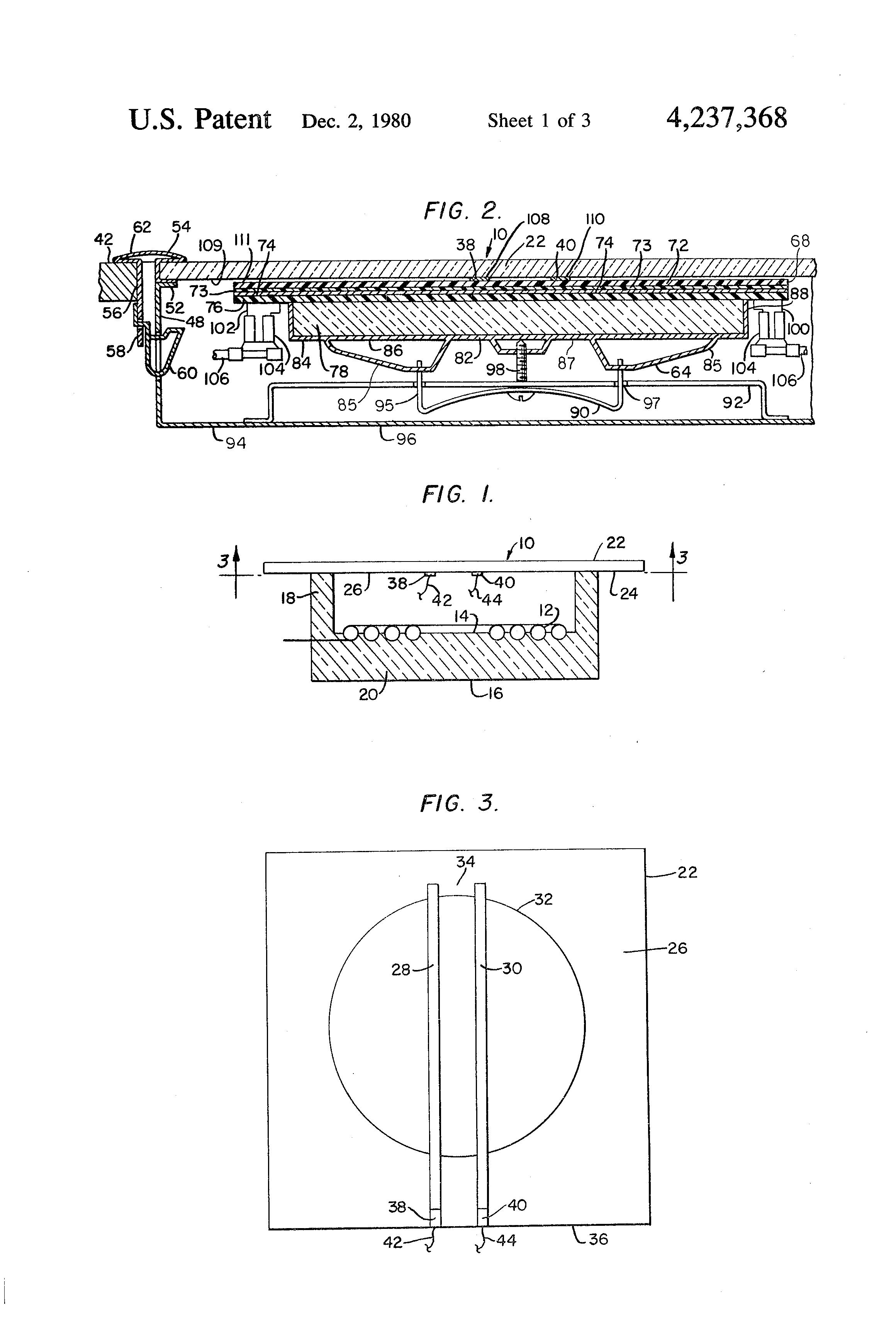 ... US4237368 1 patent us4237368 temperature sensor for glass ceramic  cooktop hatco food warmer wiring diagram at