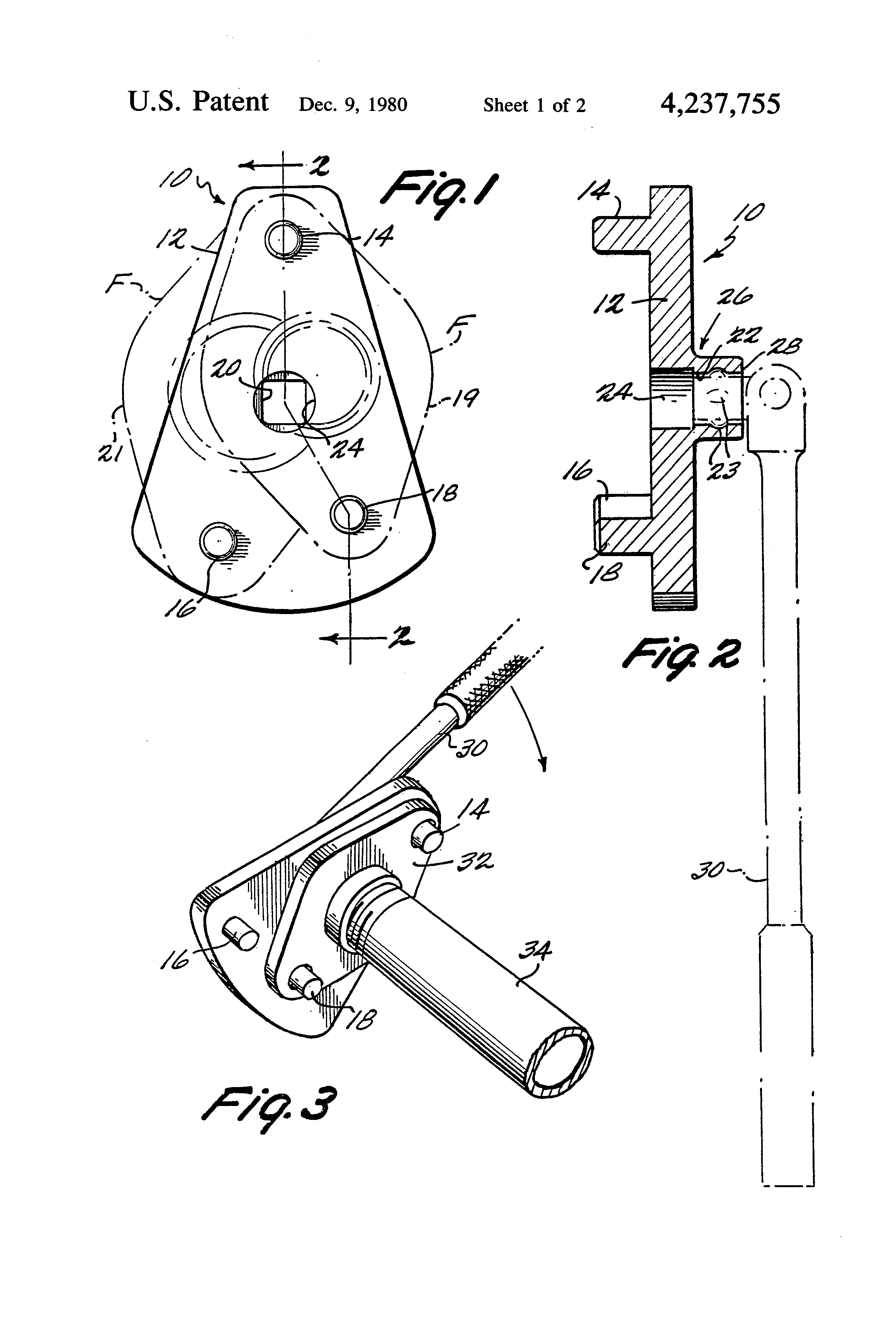Patent US4237755 - Pipe flange tool - Google Patents