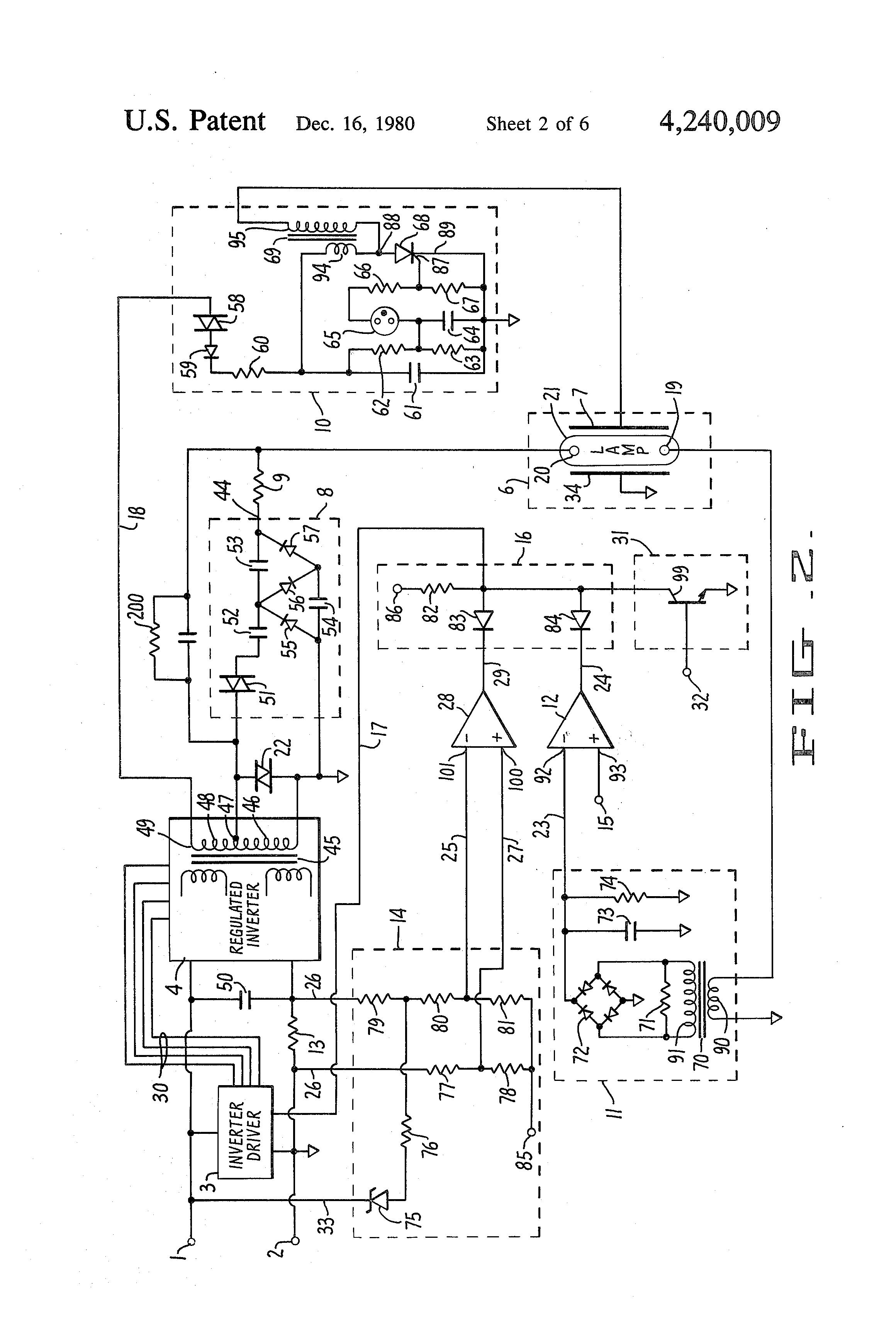 patent us4240009 - electronic ballast