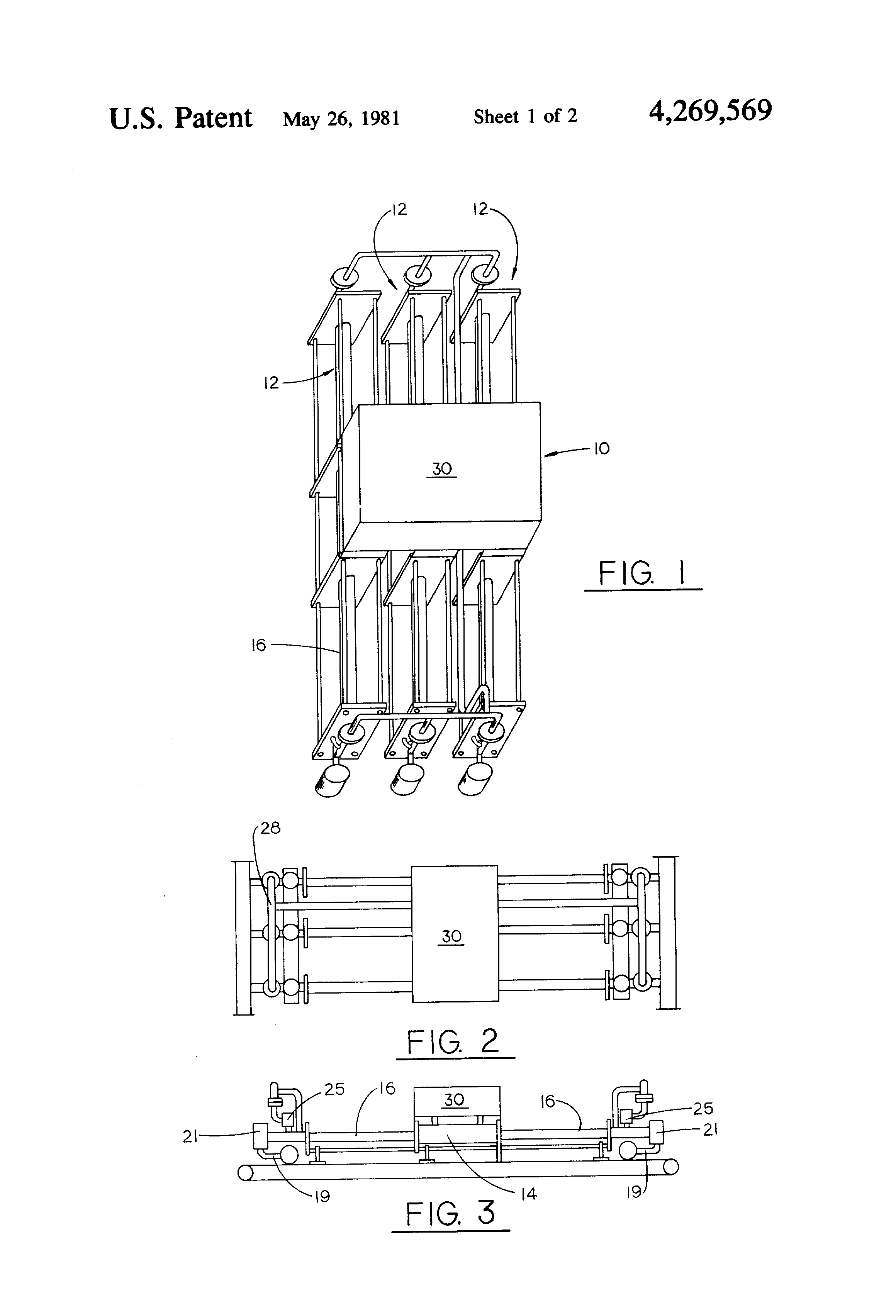 Patent Us4269569 Automatic Pump Sequencing And Flow Rate Rotative Speed Regulator Borer Driller Controller Drawing