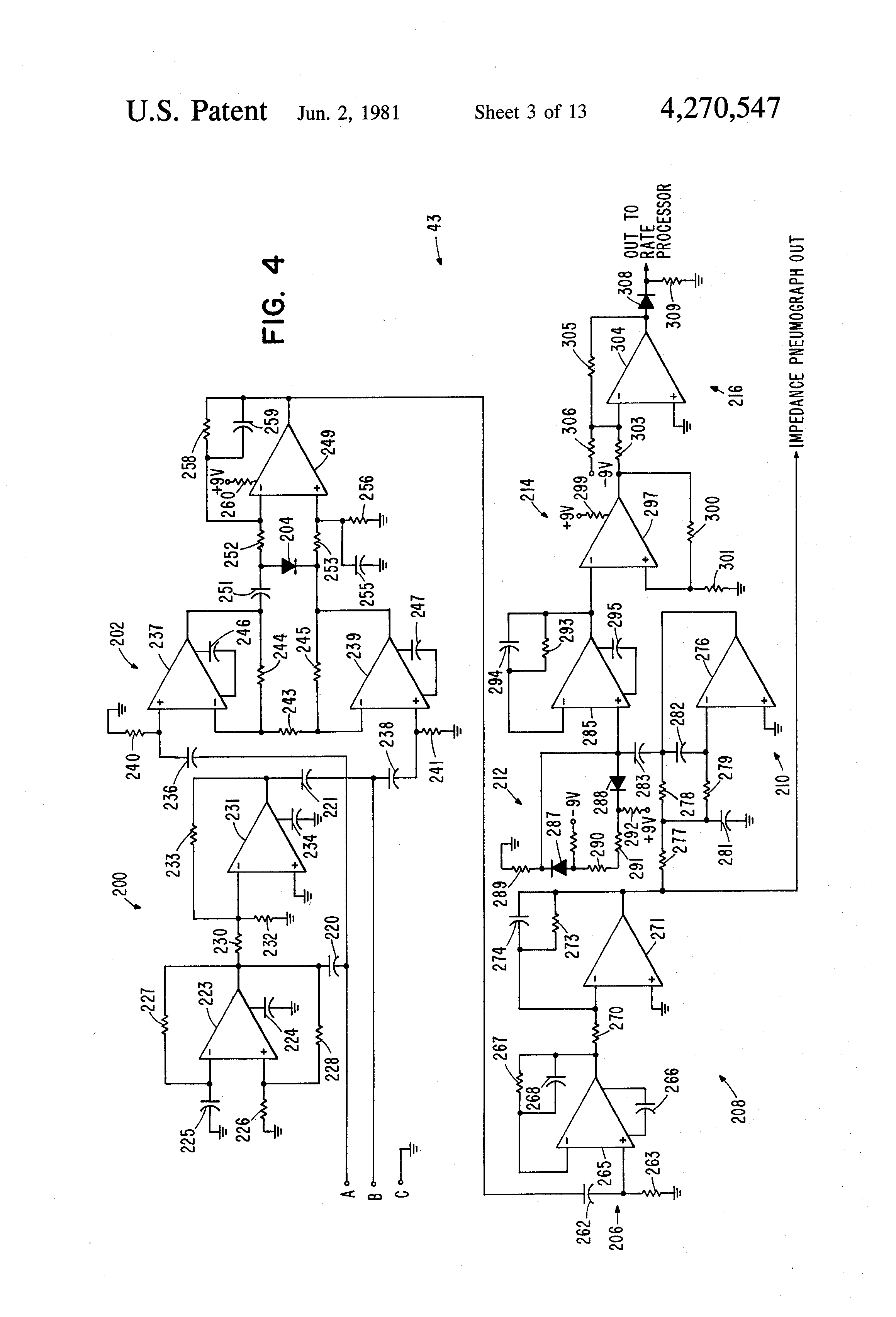patent us4270547 - vital signs monitoring system