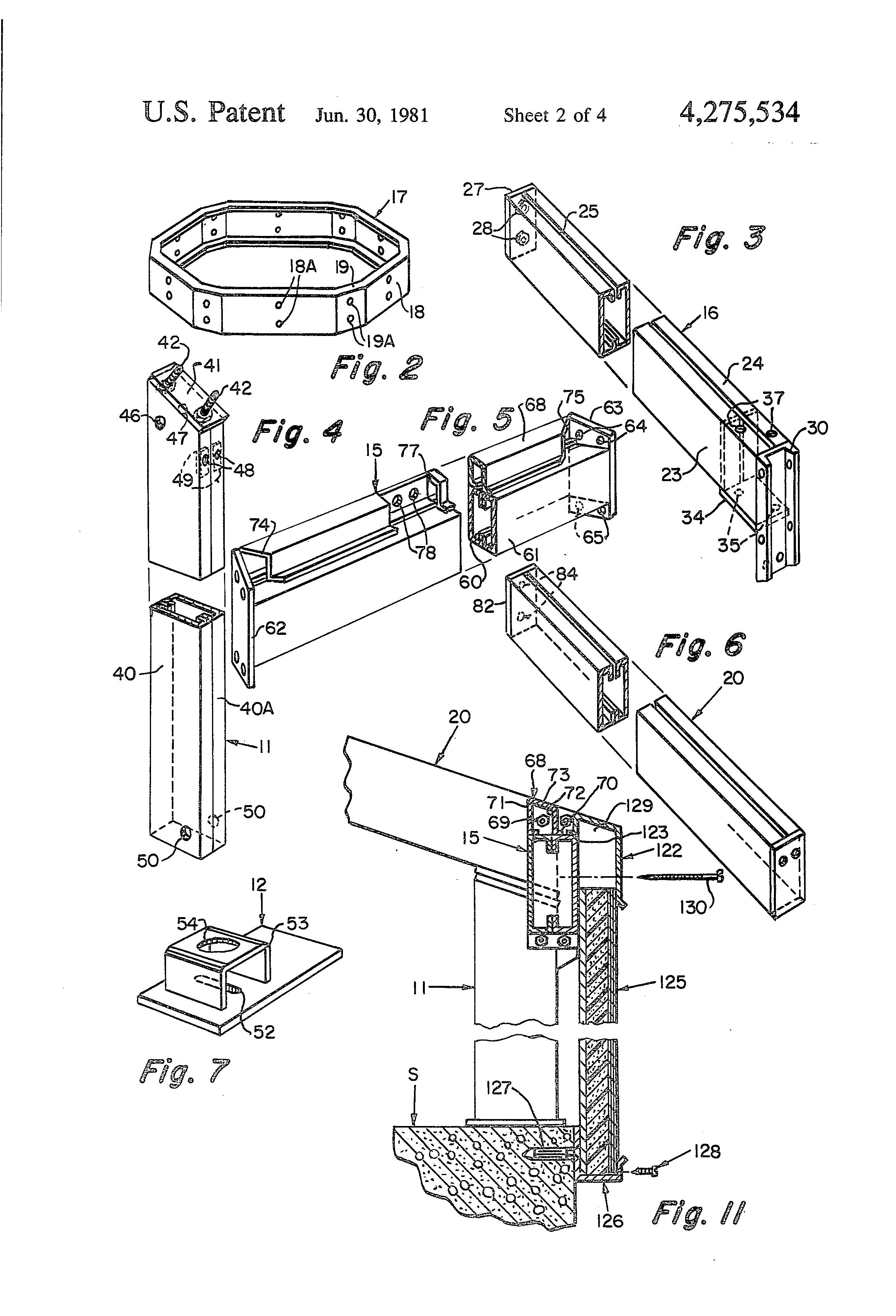 Patent Us4275534 Hexagonal Building Structures Google