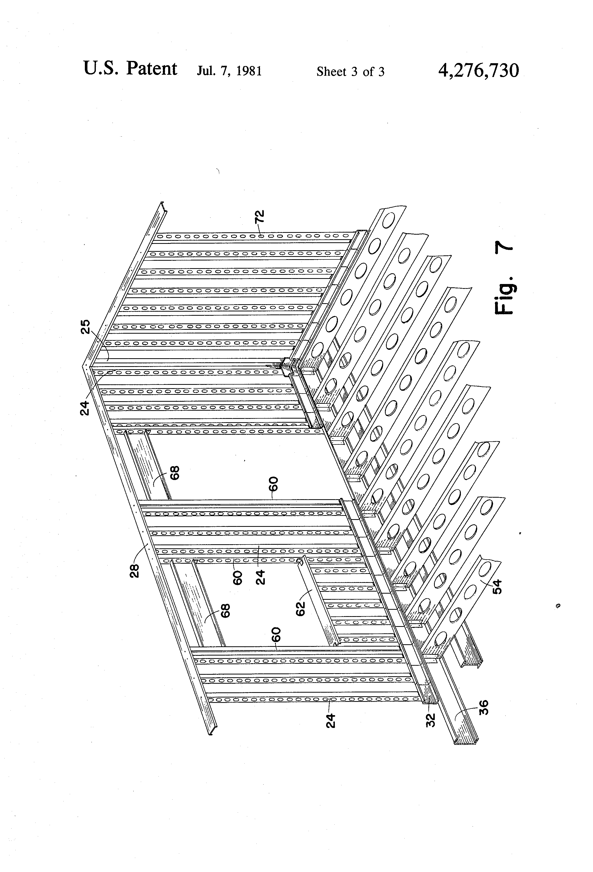 patent us4276730 - building wall construction